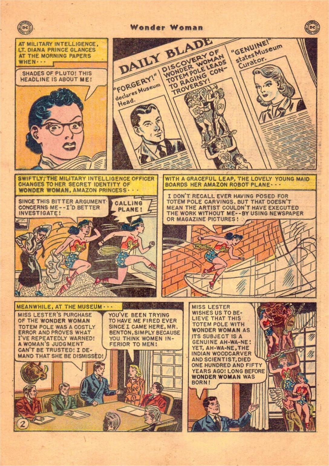 Read online Wonder Woman (1942) comic -  Issue #47 - 19