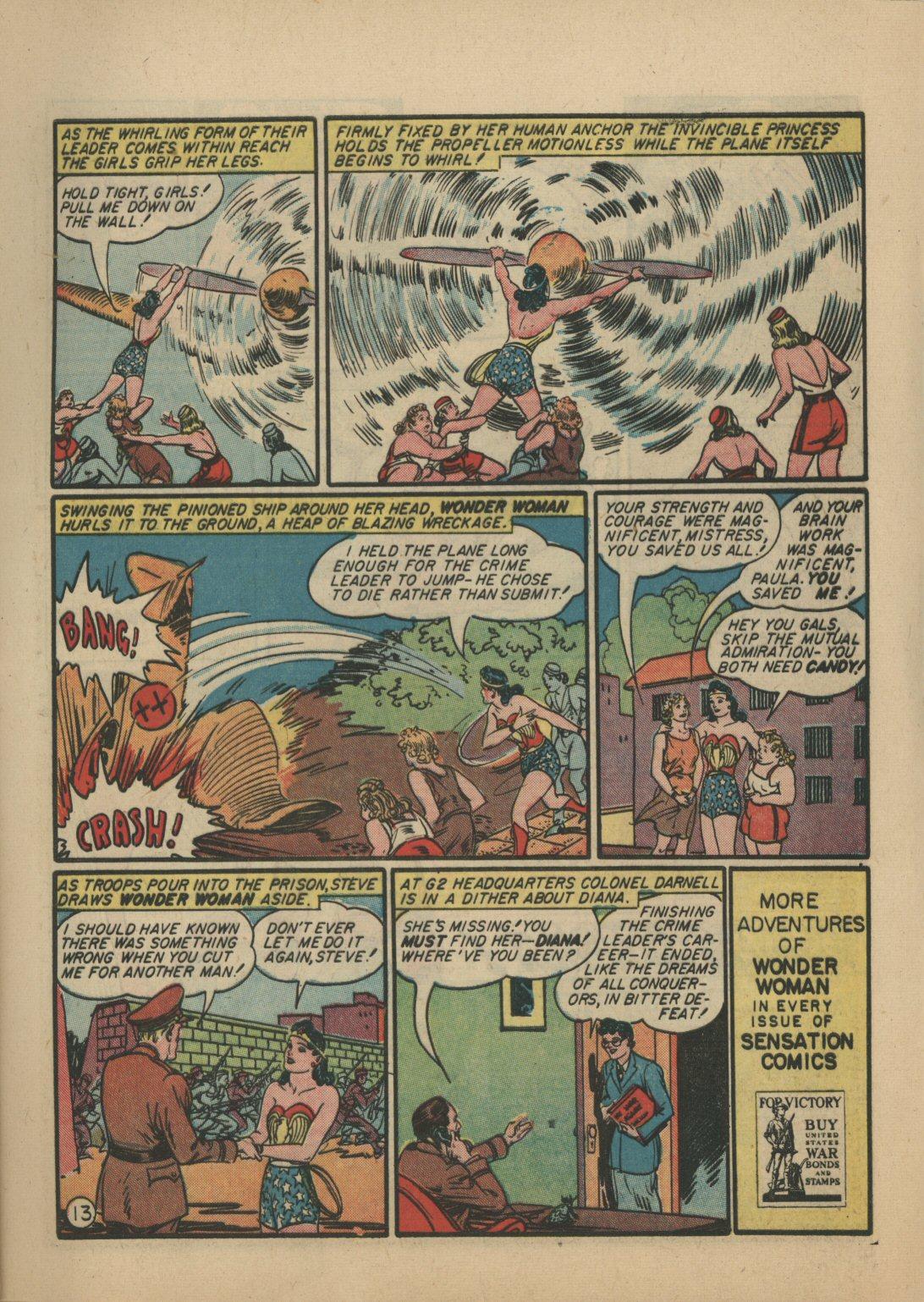 Read online Sensation (Mystery) Comics comic -  Issue #21 - 14