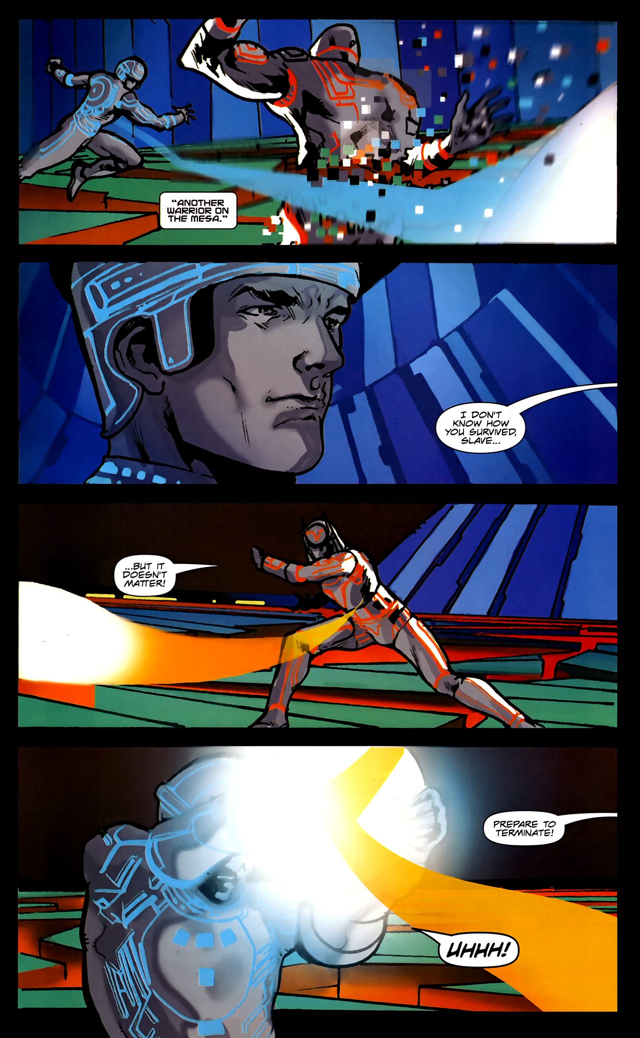 Read online TRON: Original Movie Adaptation comic -  Issue #2 - 27