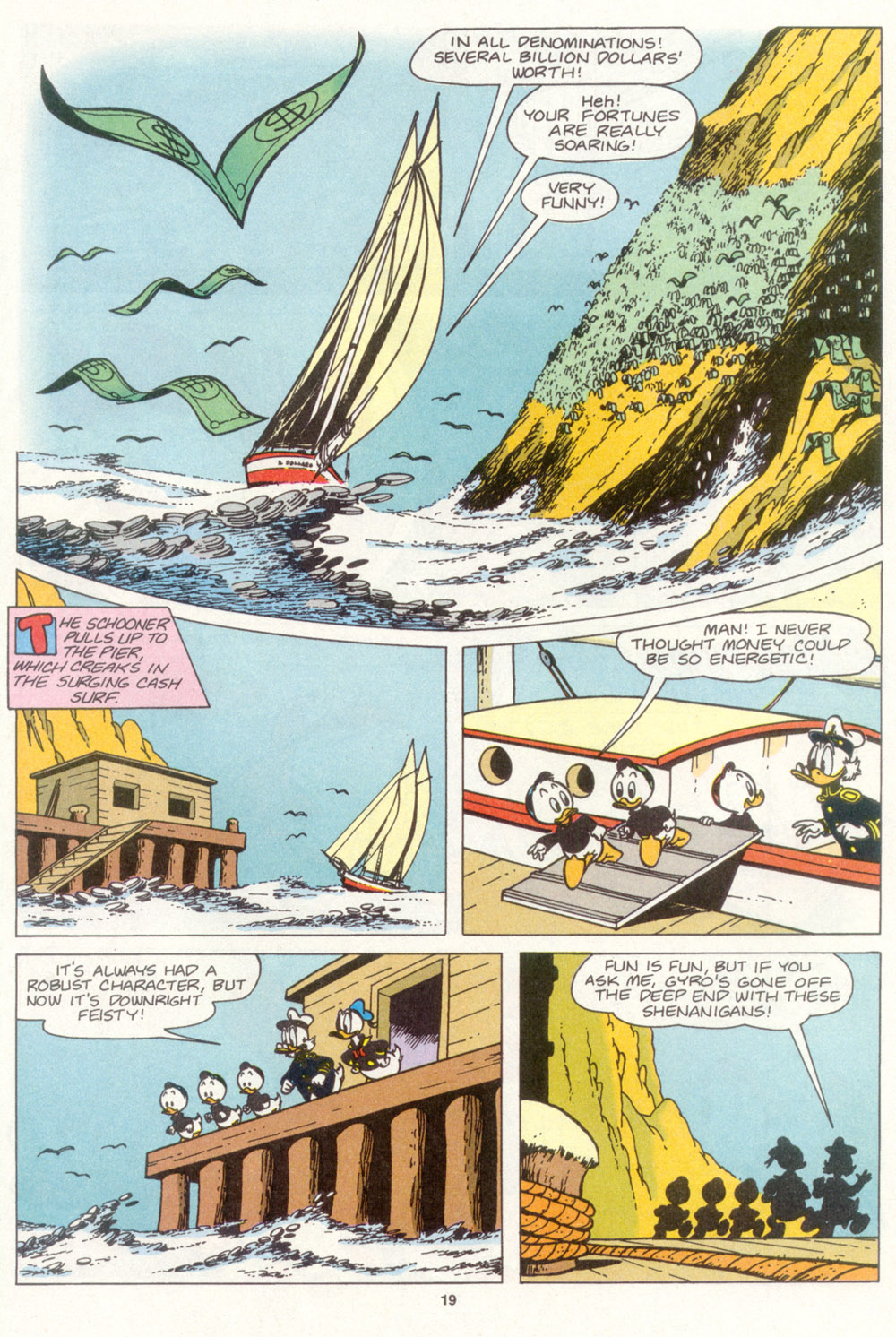 Read online Uncle Scrooge (1953) comic -  Issue #266 - 21