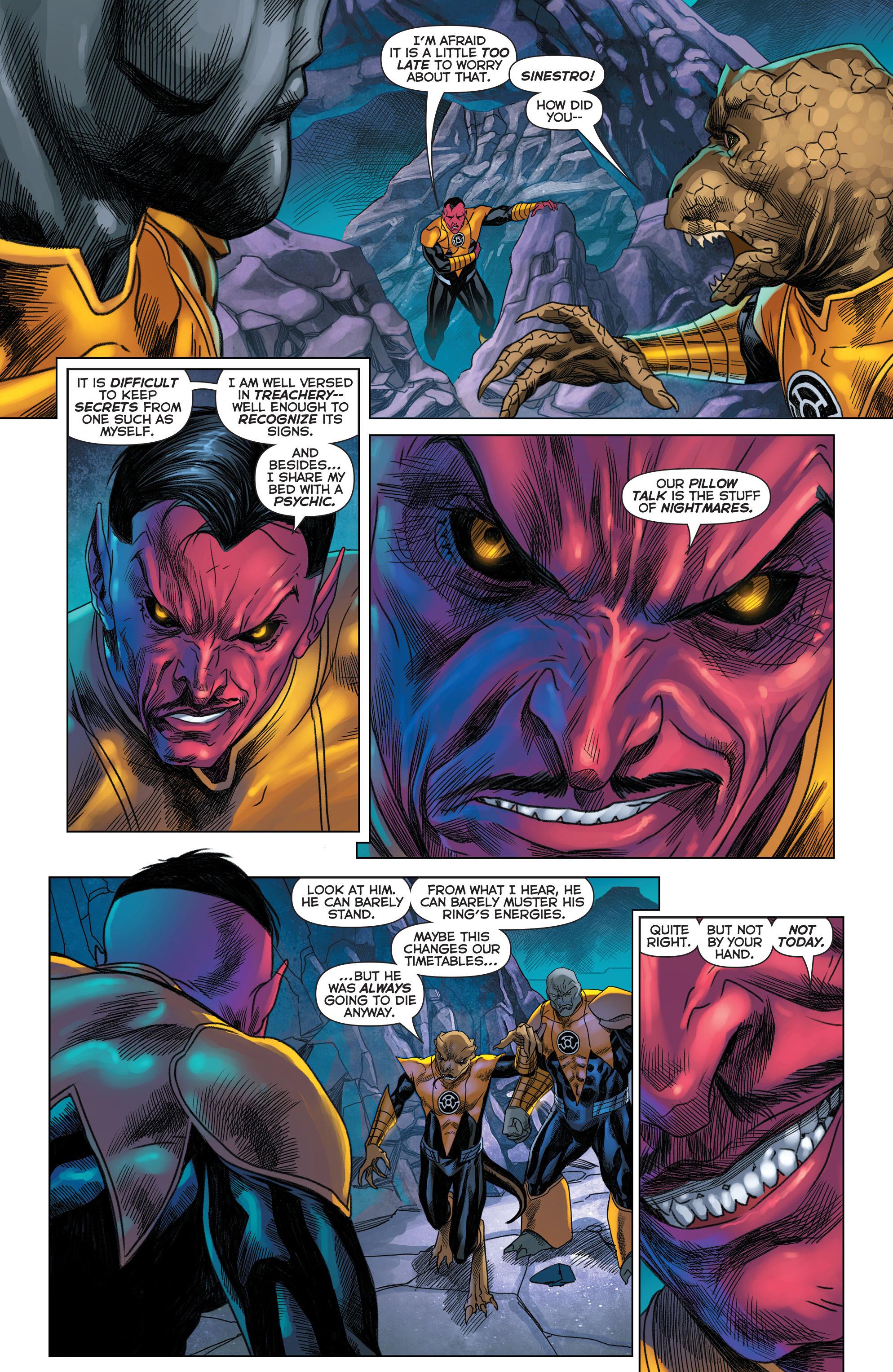 Read online Sinestro comic -  Issue #22 - 11