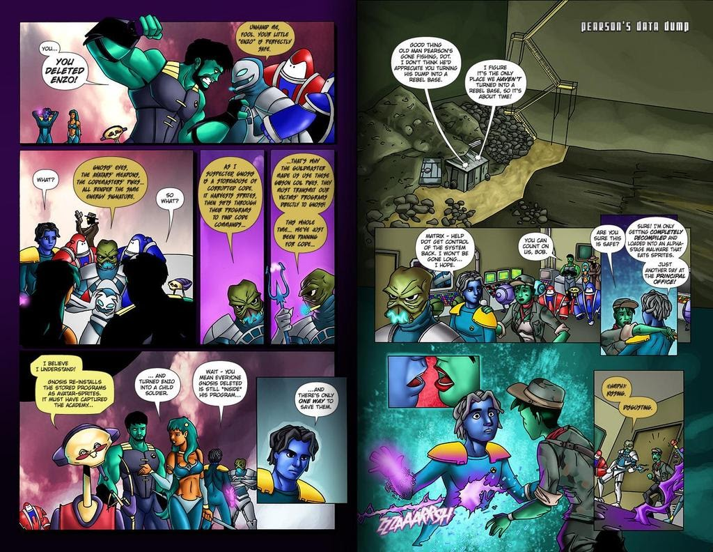 Read online ReBoot: Paradigms Lost comic -  Issue # Full - 31
