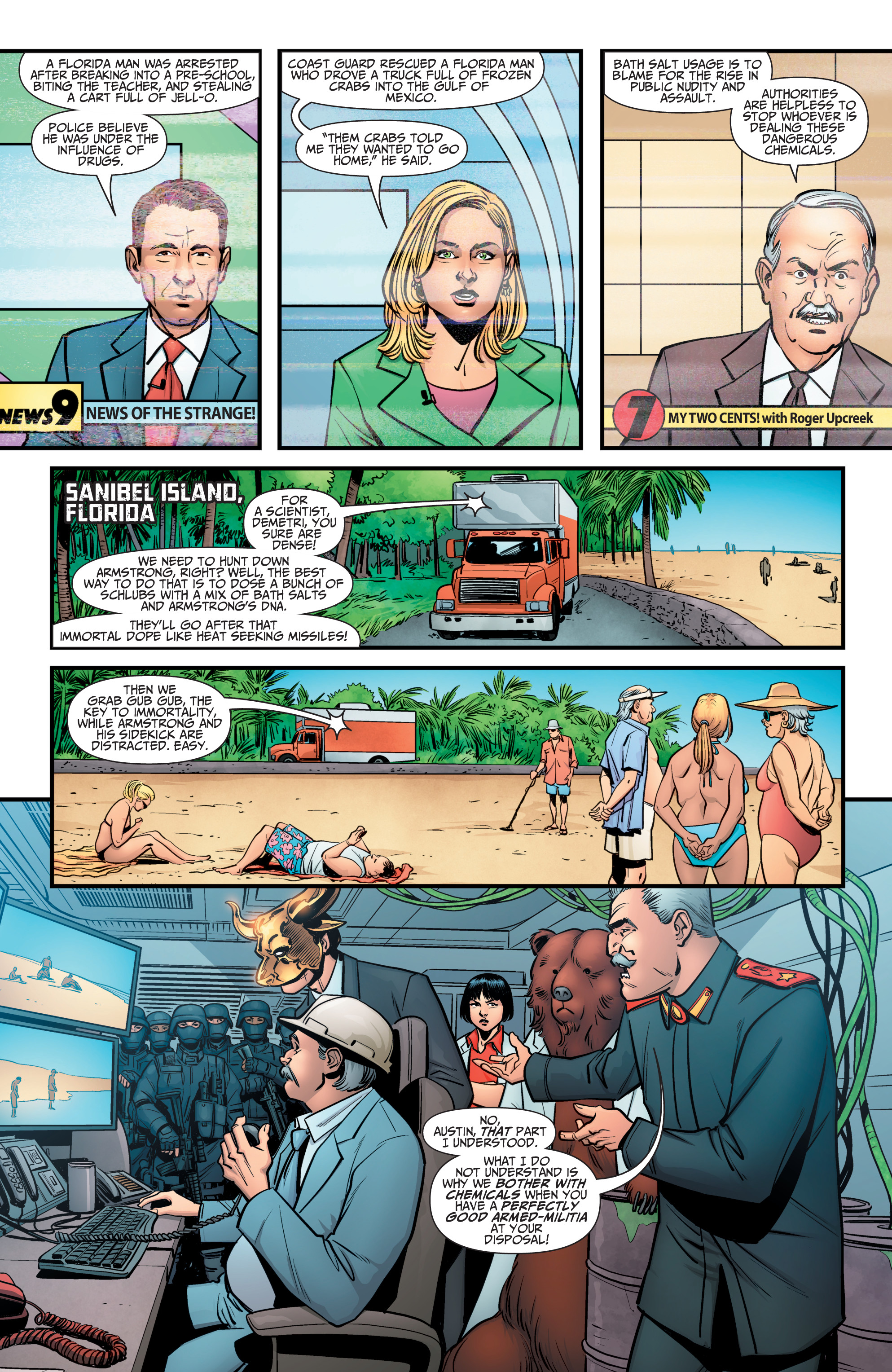 Read online A&A: The Adventures of Archer & Armstrong comic -  Issue #10 - 3