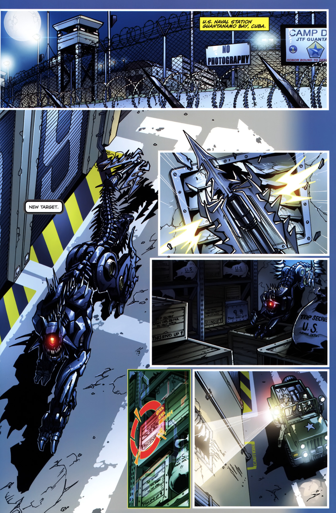 Read online Transformers: Tales of The Fallen comic -  Issue #5 - 5