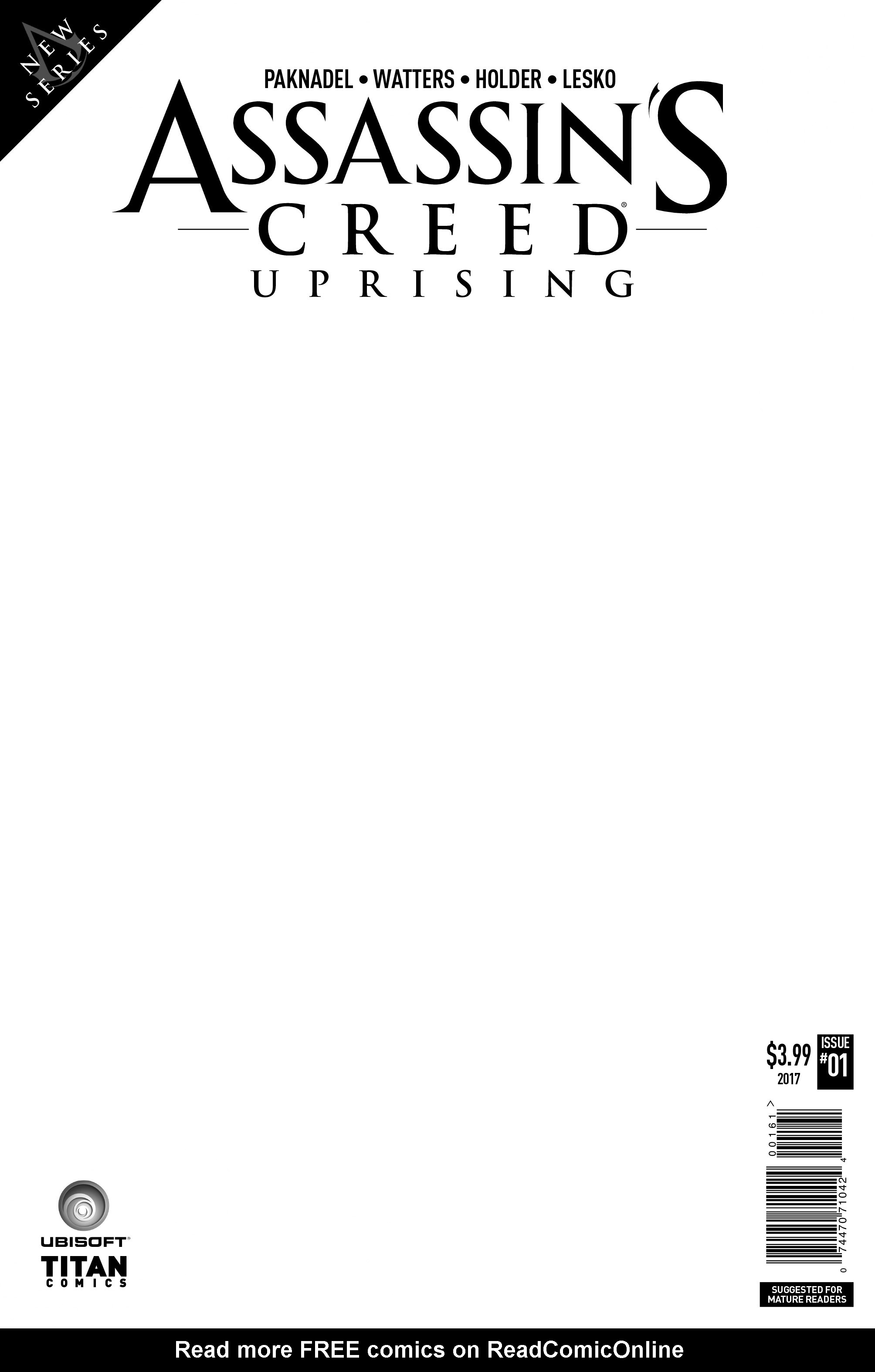 Read online Assassin's Creed: Uprising comic -  Issue #1 - 7
