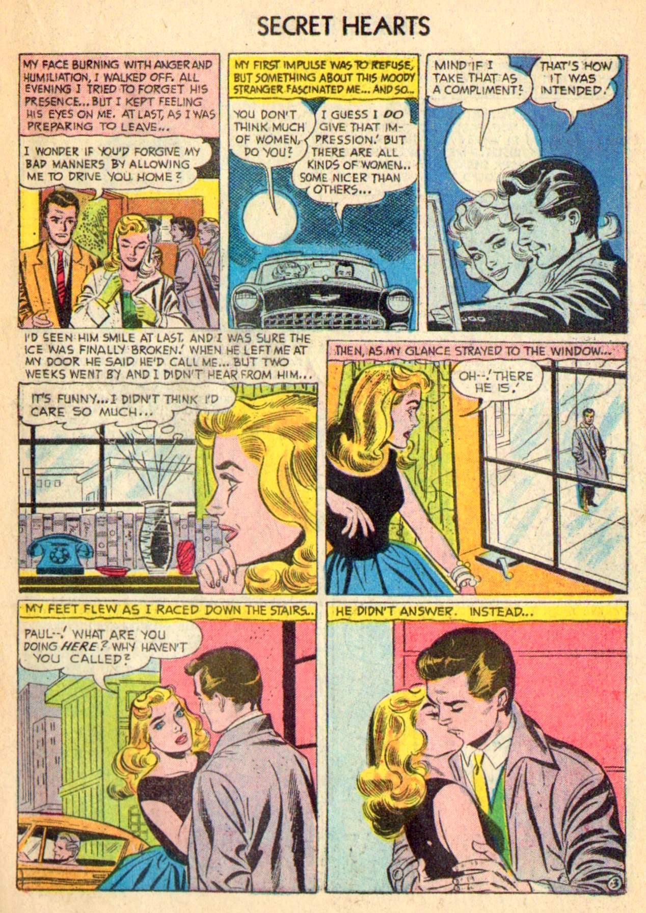 Read online Secret Hearts comic -  Issue #31 - 19