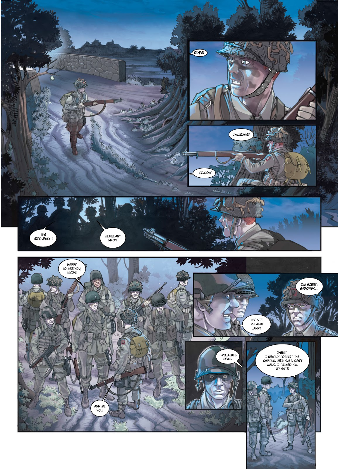 Read online Opération Overlord comic -  Issue #1 - 16