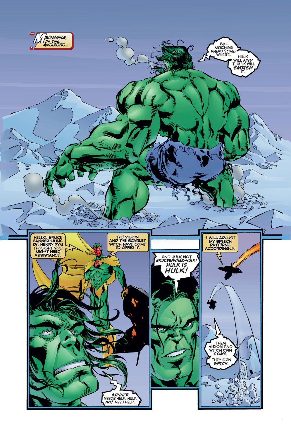 Read online Avengers (1996) comic -  Issue #12 - 20