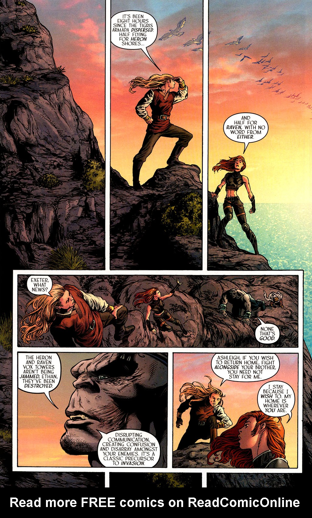 Read online Scion comic -  Issue #40 - 17