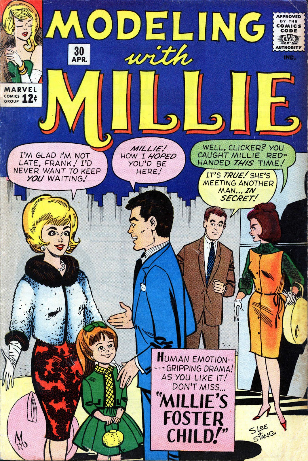Modeling With Millie issue 30 - Page 1