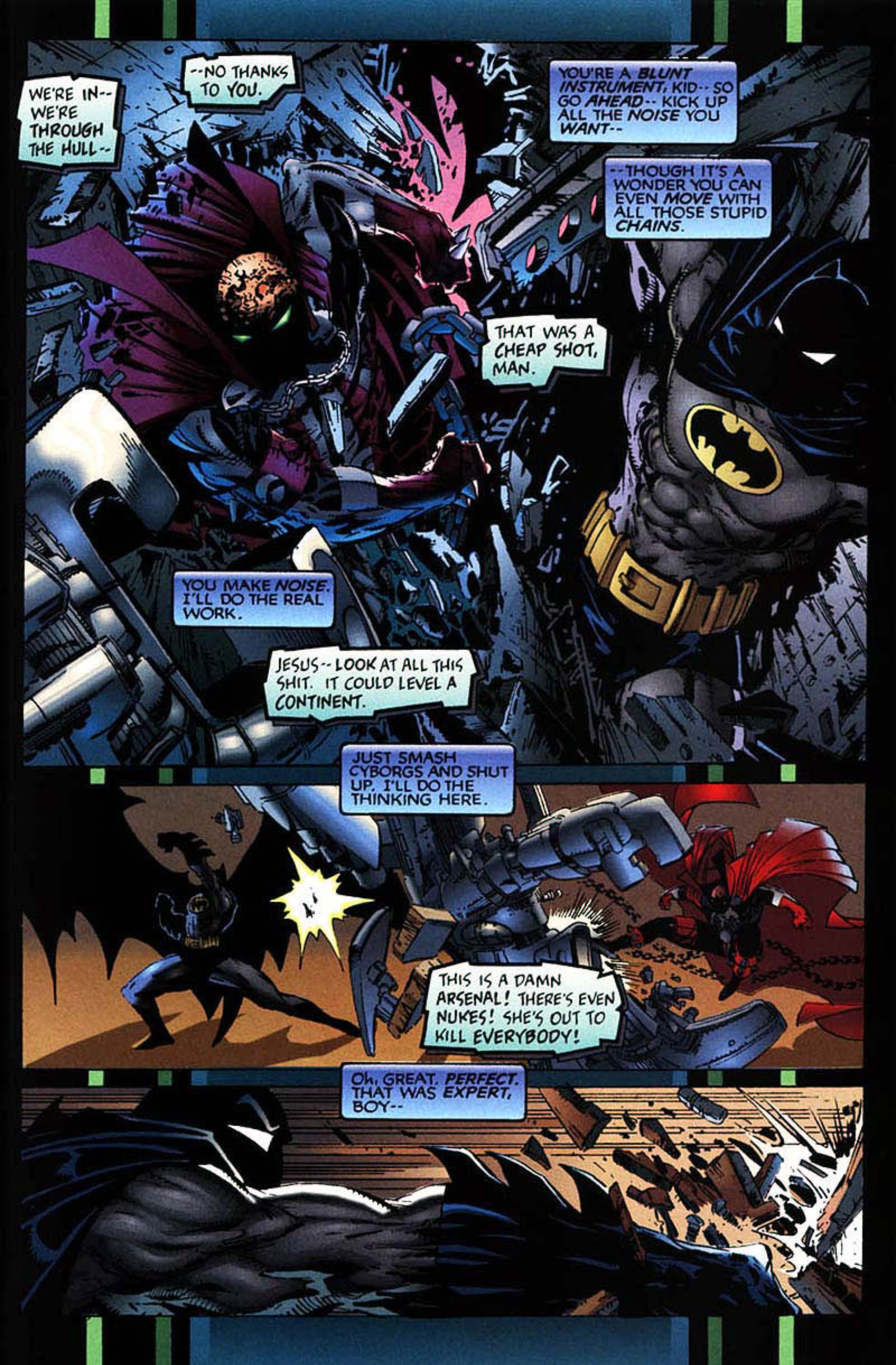 Read online Spawn-Batman comic -  Issue # Full - 49