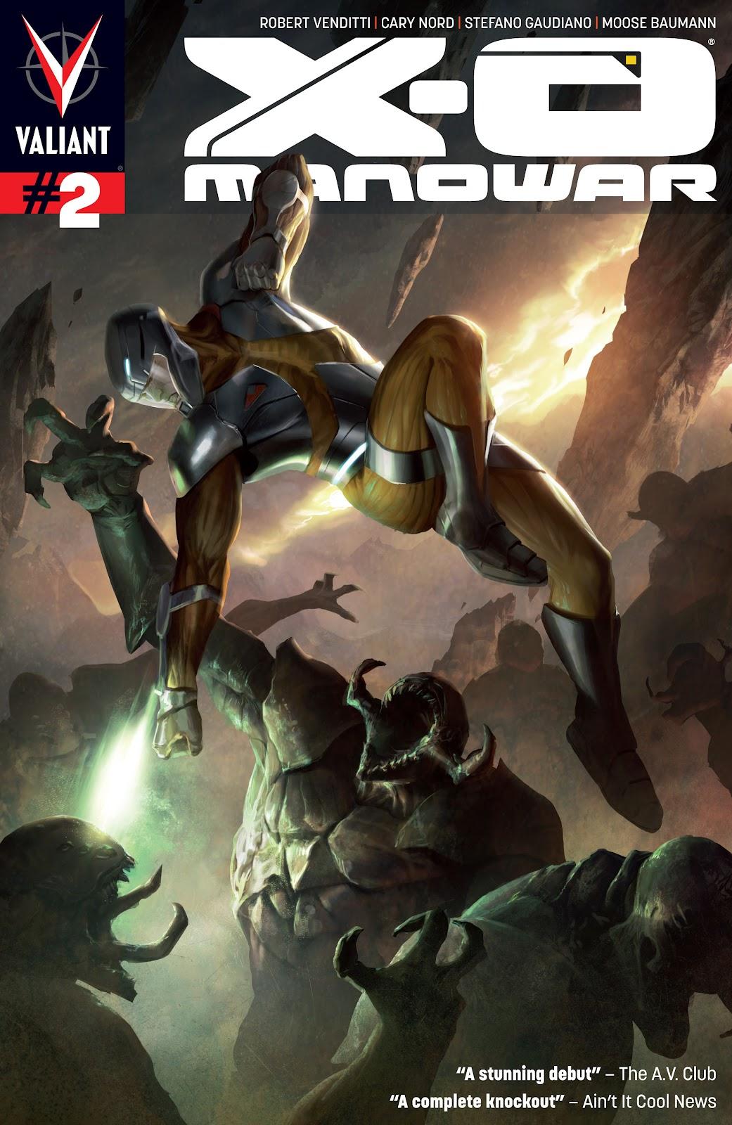 X-O Manowar (2012) 2 Page 1