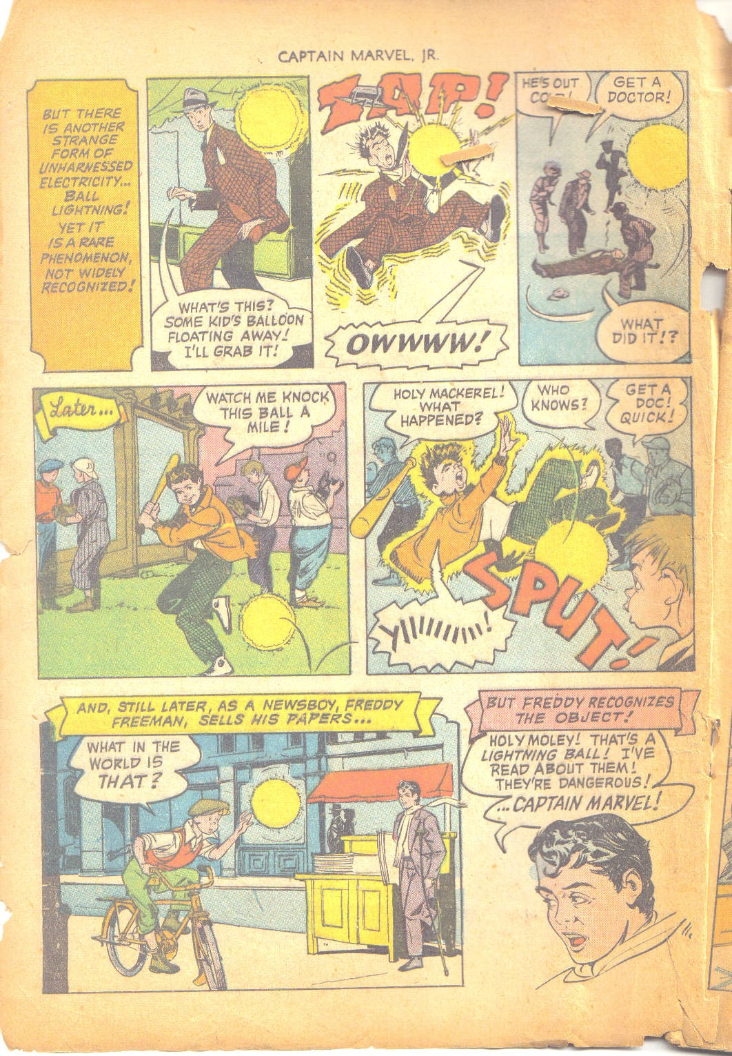 Captain Marvel, Jr. issue 95 - Page 3