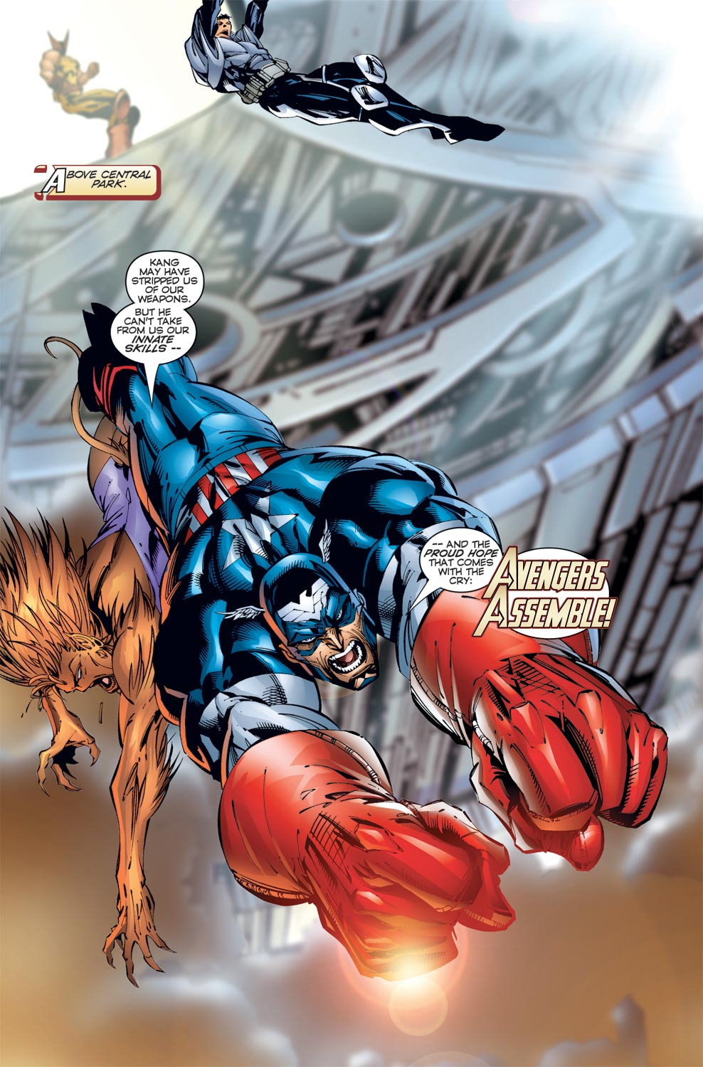 Read online Avengers (1996) comic -  Issue #3 - 12