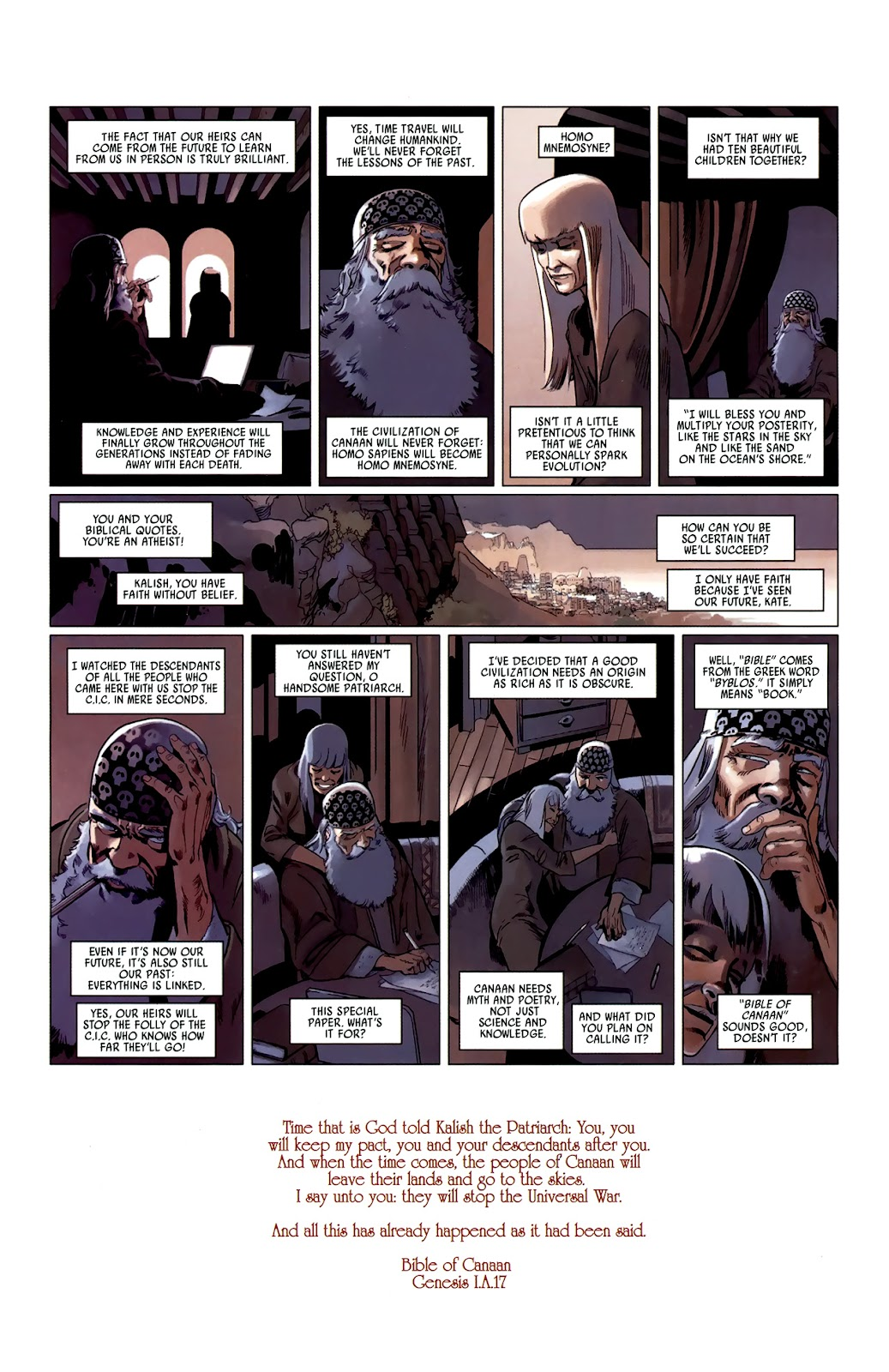 Read online Universal War One: Revelations comic -  Issue #3 - 50