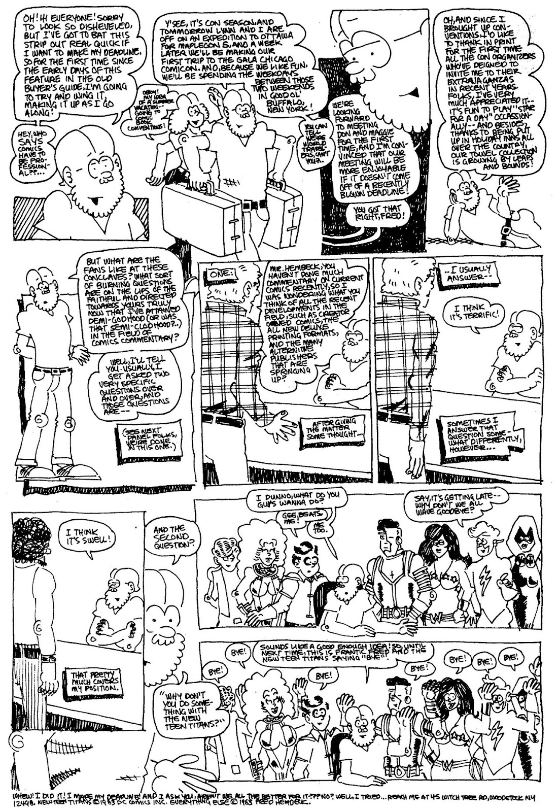 Read online The Nearly Complete Essential Hembeck Archives Omnibus comic -  Issue # TPB (Part 4) - 73
