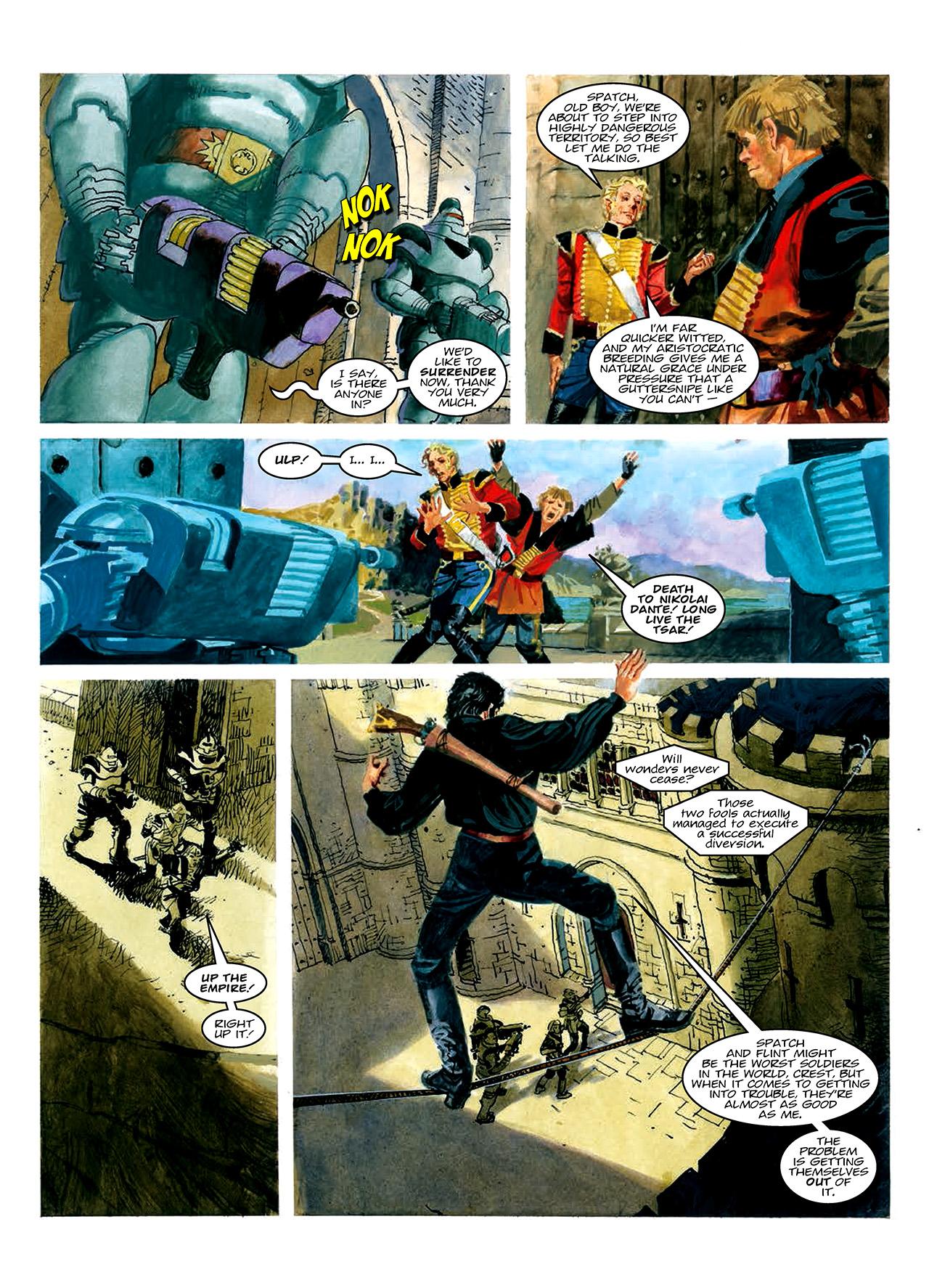 Read online Nikolai Dante comic -  Issue # TPB 10 - 52