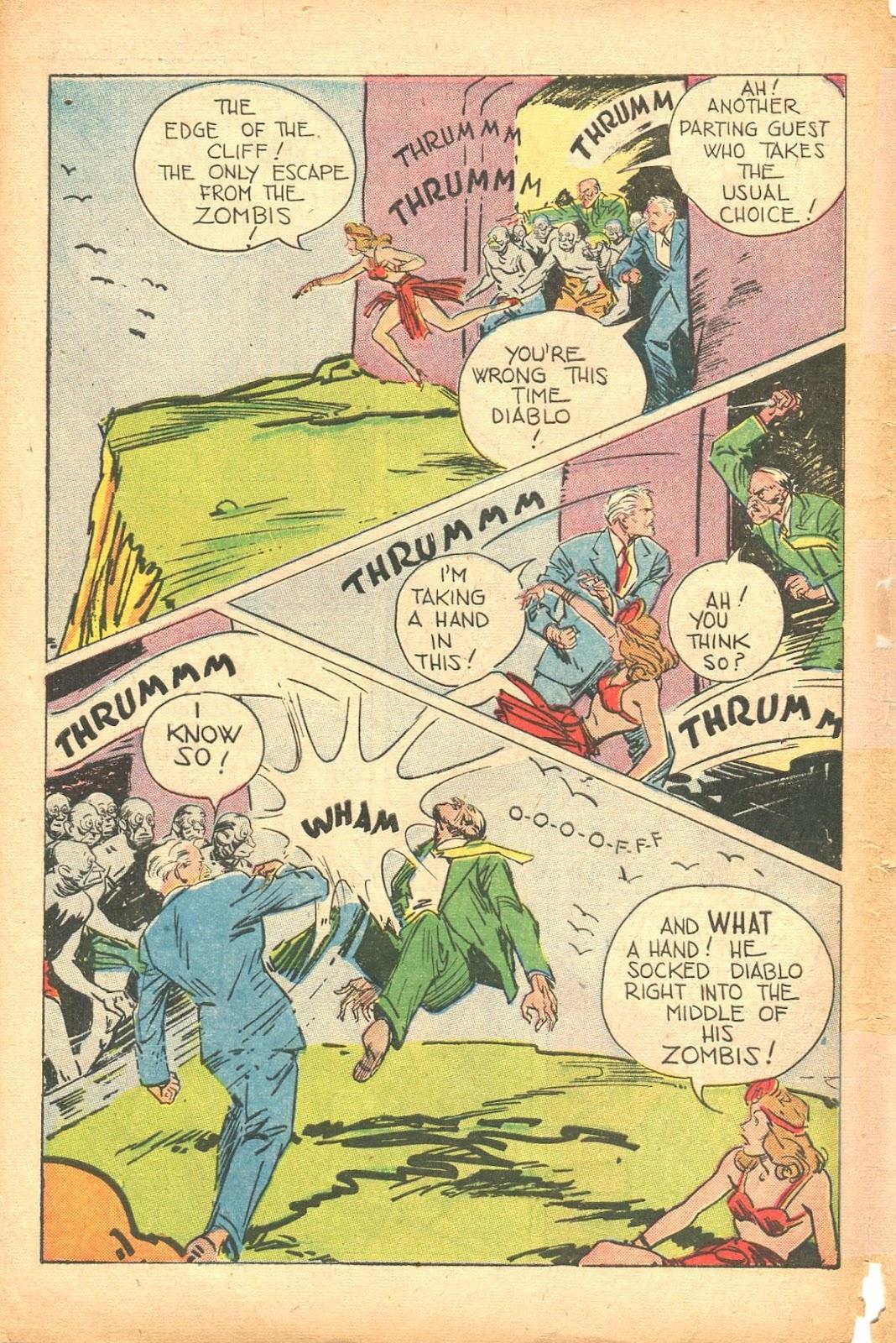 Read online Super-Magician Comics comic -  Issue #35 - 48