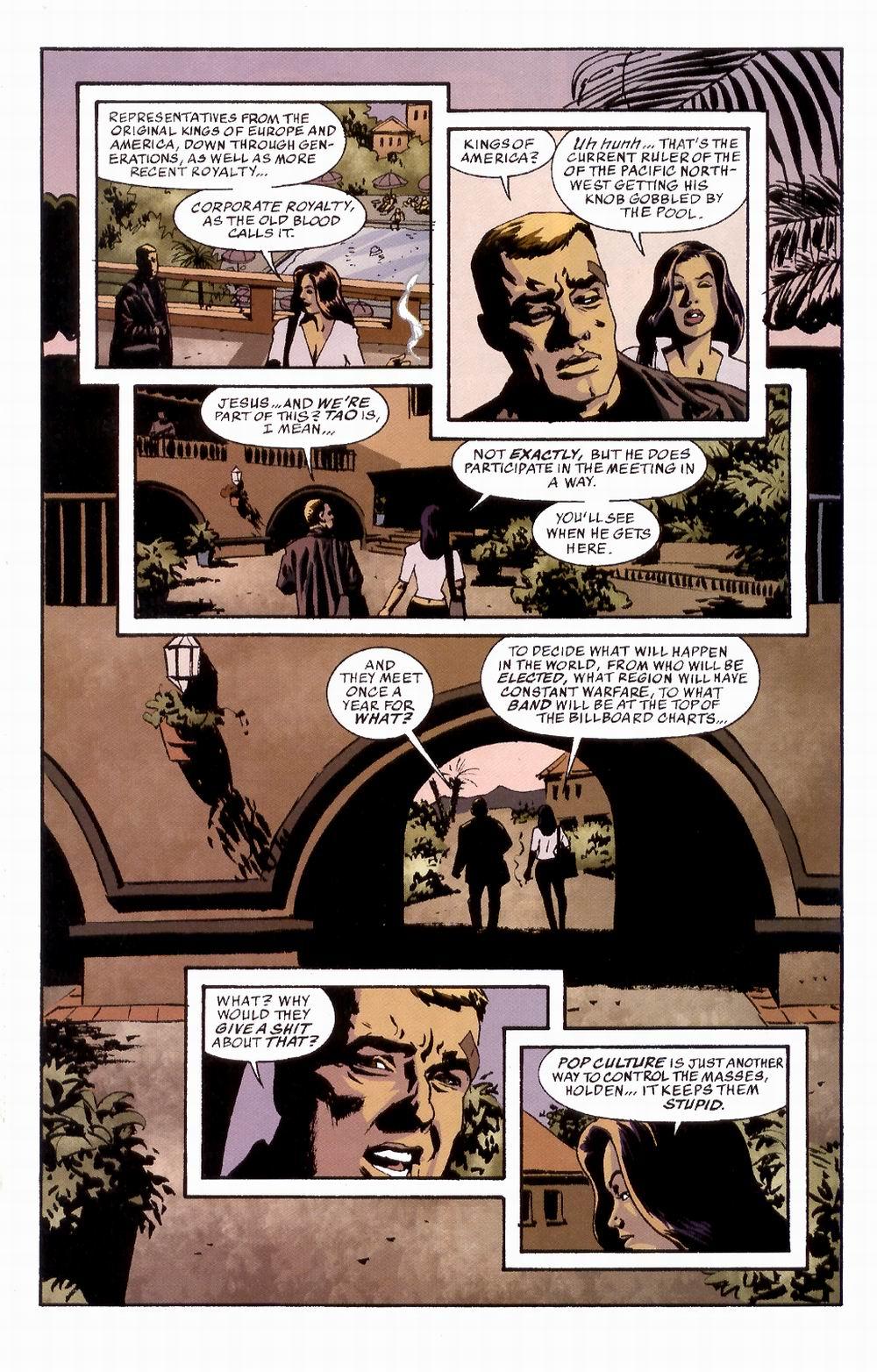 Read online Sleeper comic -  Issue #3 - 21