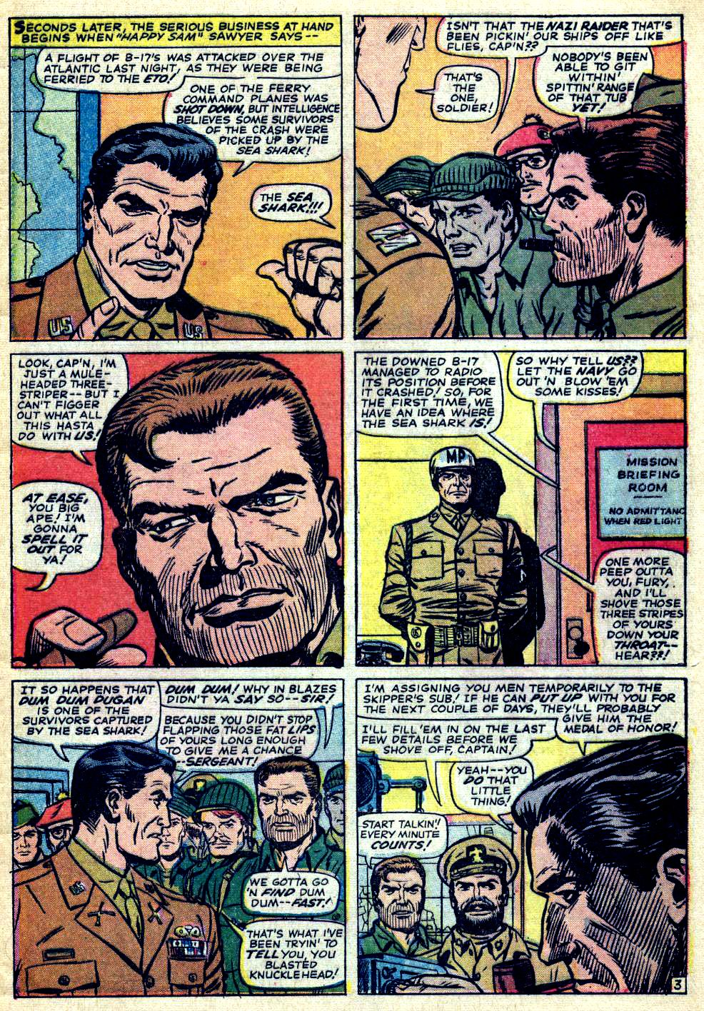 Read online Sgt. Fury comic -  Issue #26 - 5