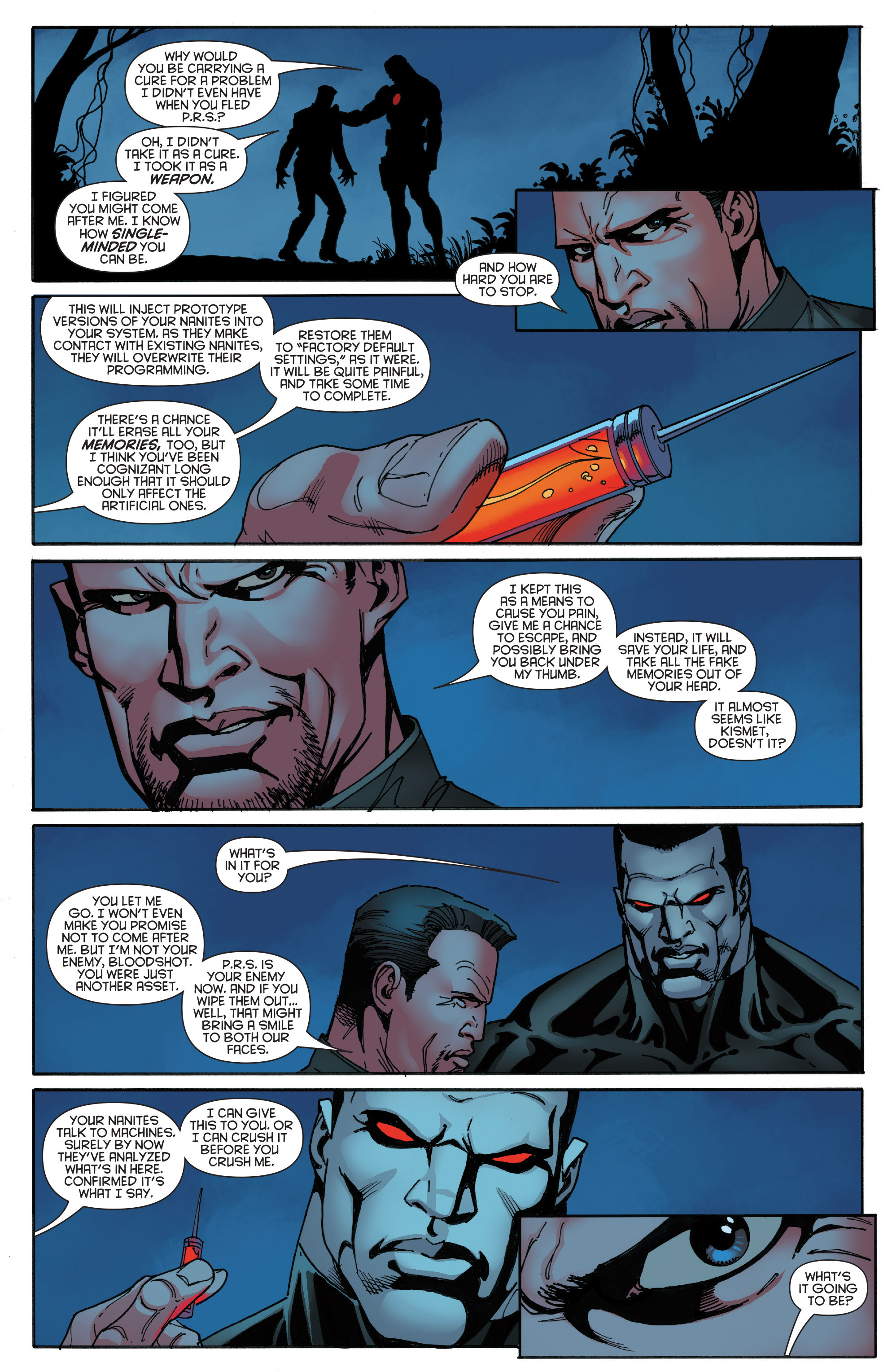 Read online Bloodshot and H.A.R.D.Corps comic -  Issue #19 - 19