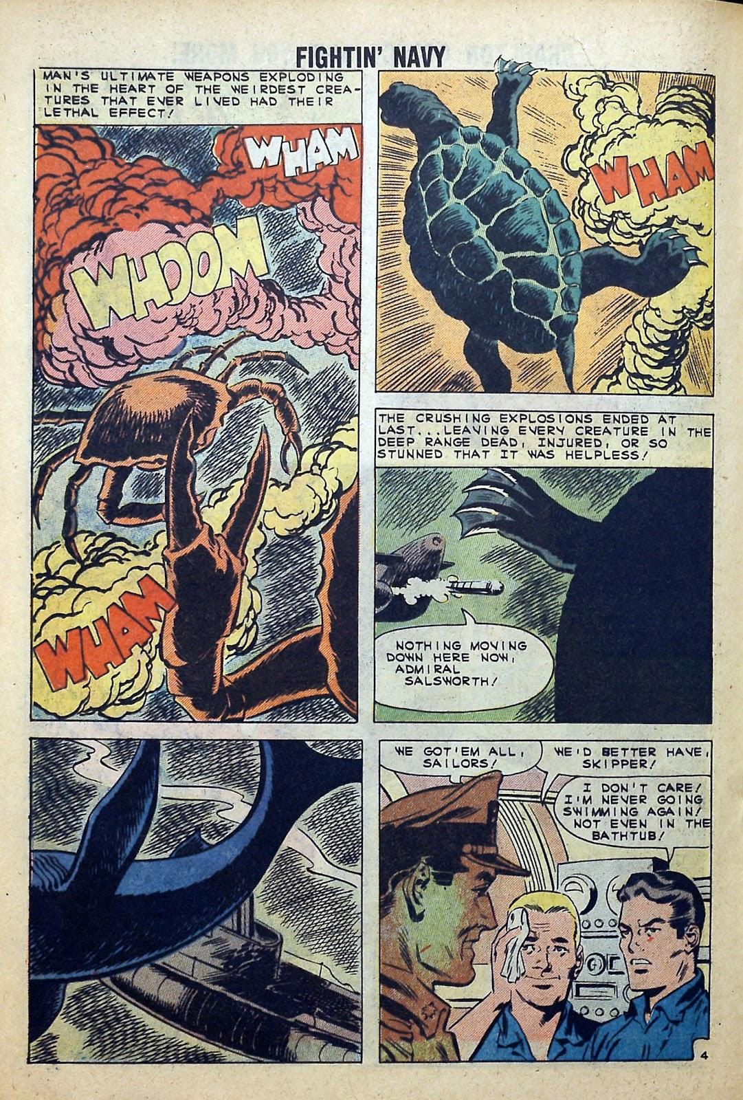 Read online Fightin' Navy comic -  Issue #99 - 20
