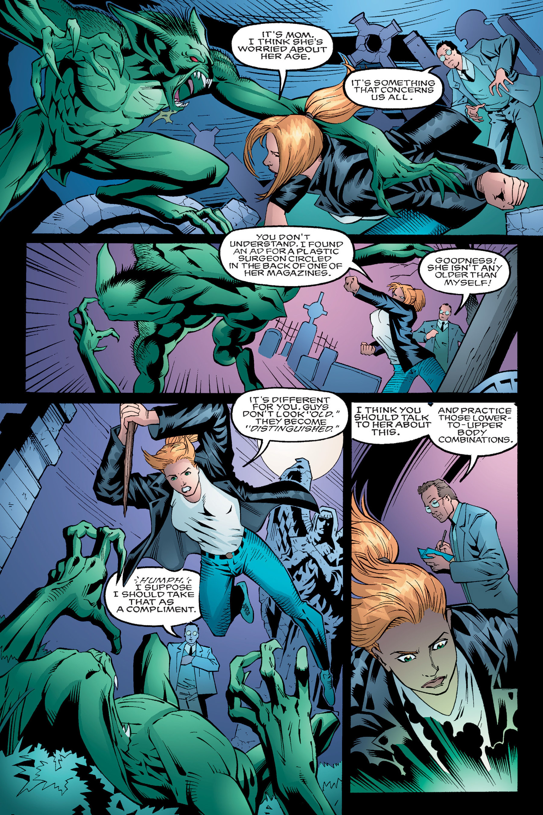 Read online Buffy the Vampire Slayer: Omnibus comic -  Issue # TPB 4 - 25