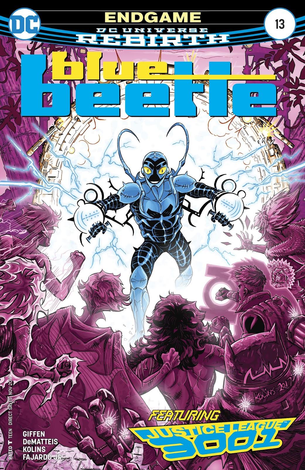 Blue Beetle (2016) 13 Page 1