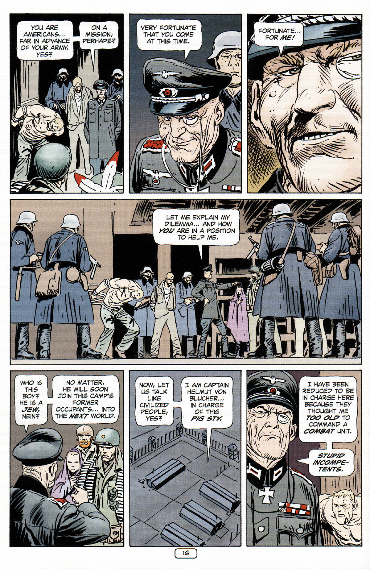 Read online Sgt. Rock: The Prophecy comic -  Issue #3 - 17