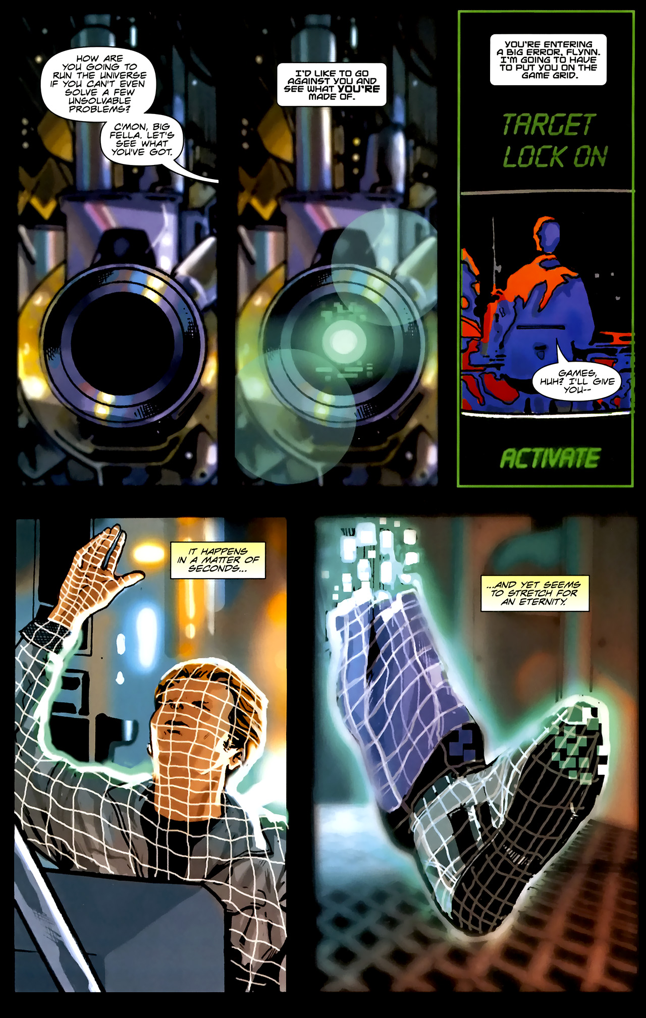 Read online TRON: Original Movie Adaptation comic -  Issue #1 - 28