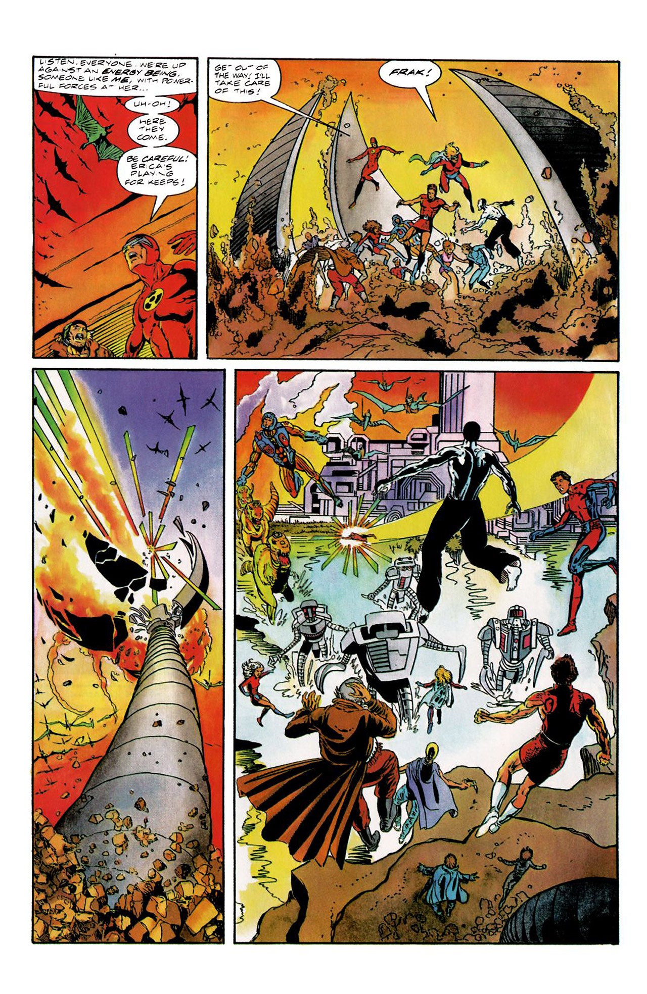 Read online Harbinger (1992) comic -  Issue #8 - 7