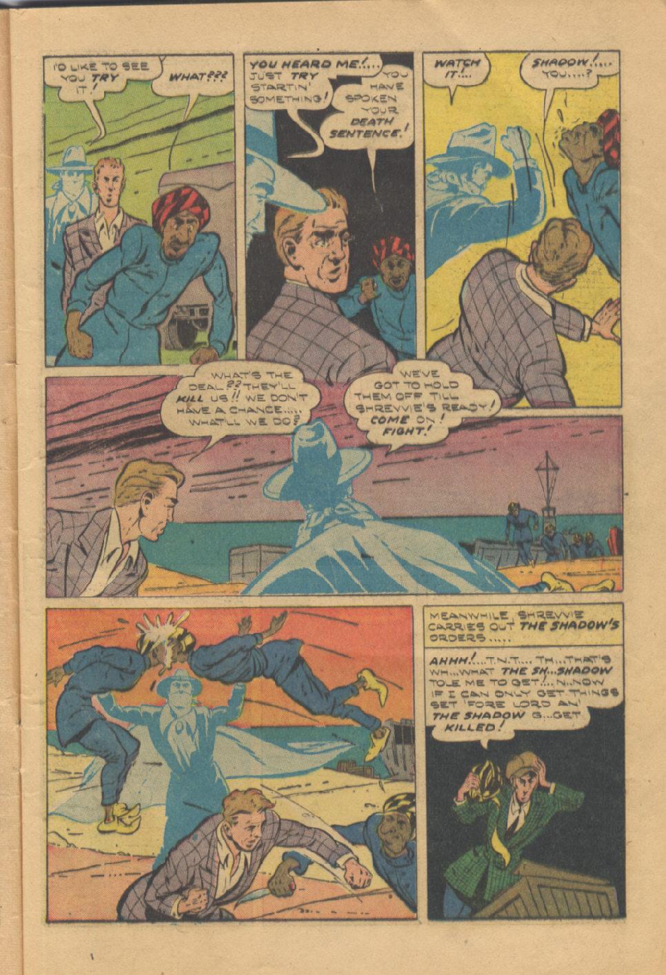 Read online Shadow Comics comic -  Issue #95 - 13