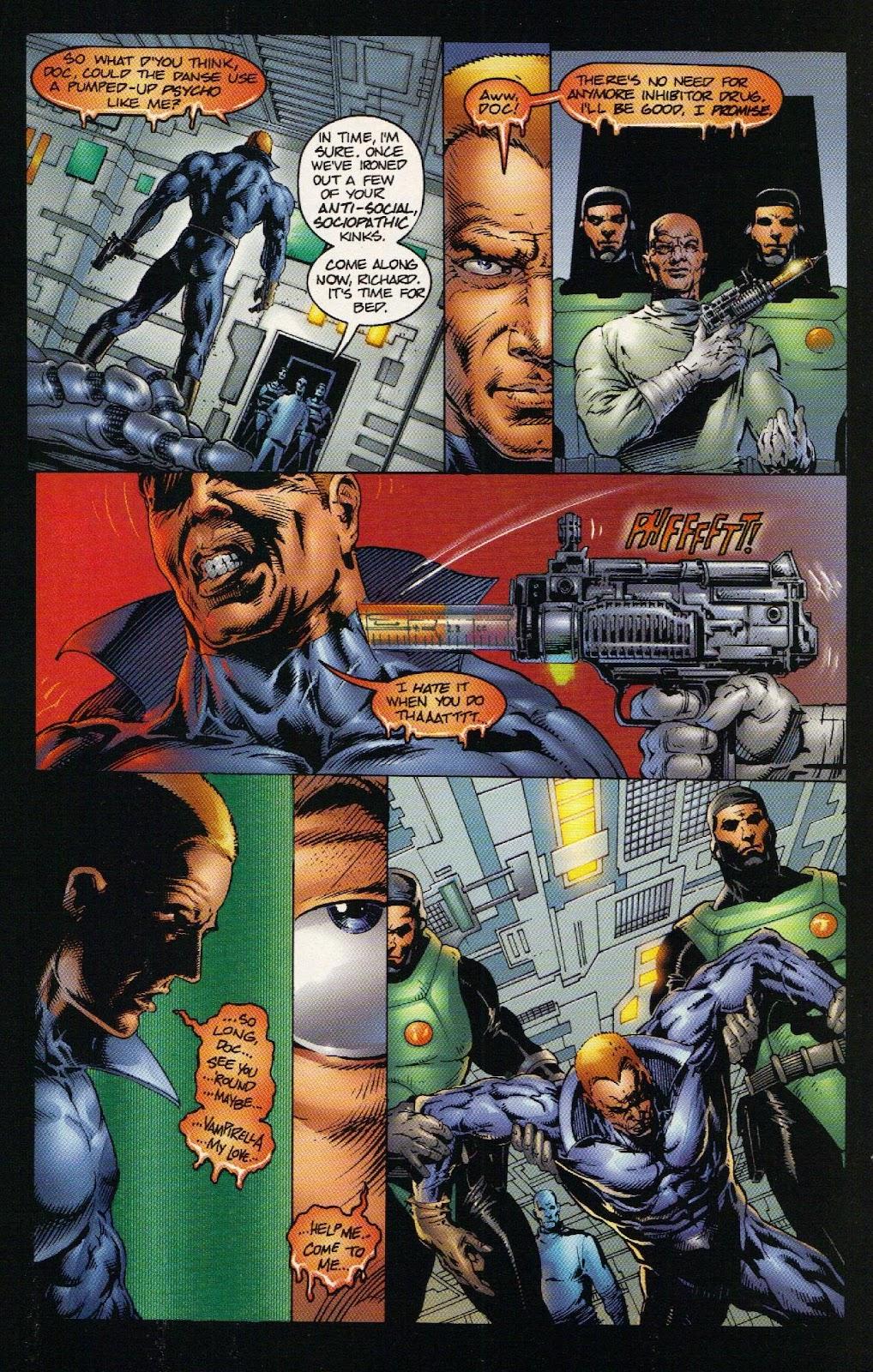 Vampirella vs Hemorrhage issue 1 - Page 23
