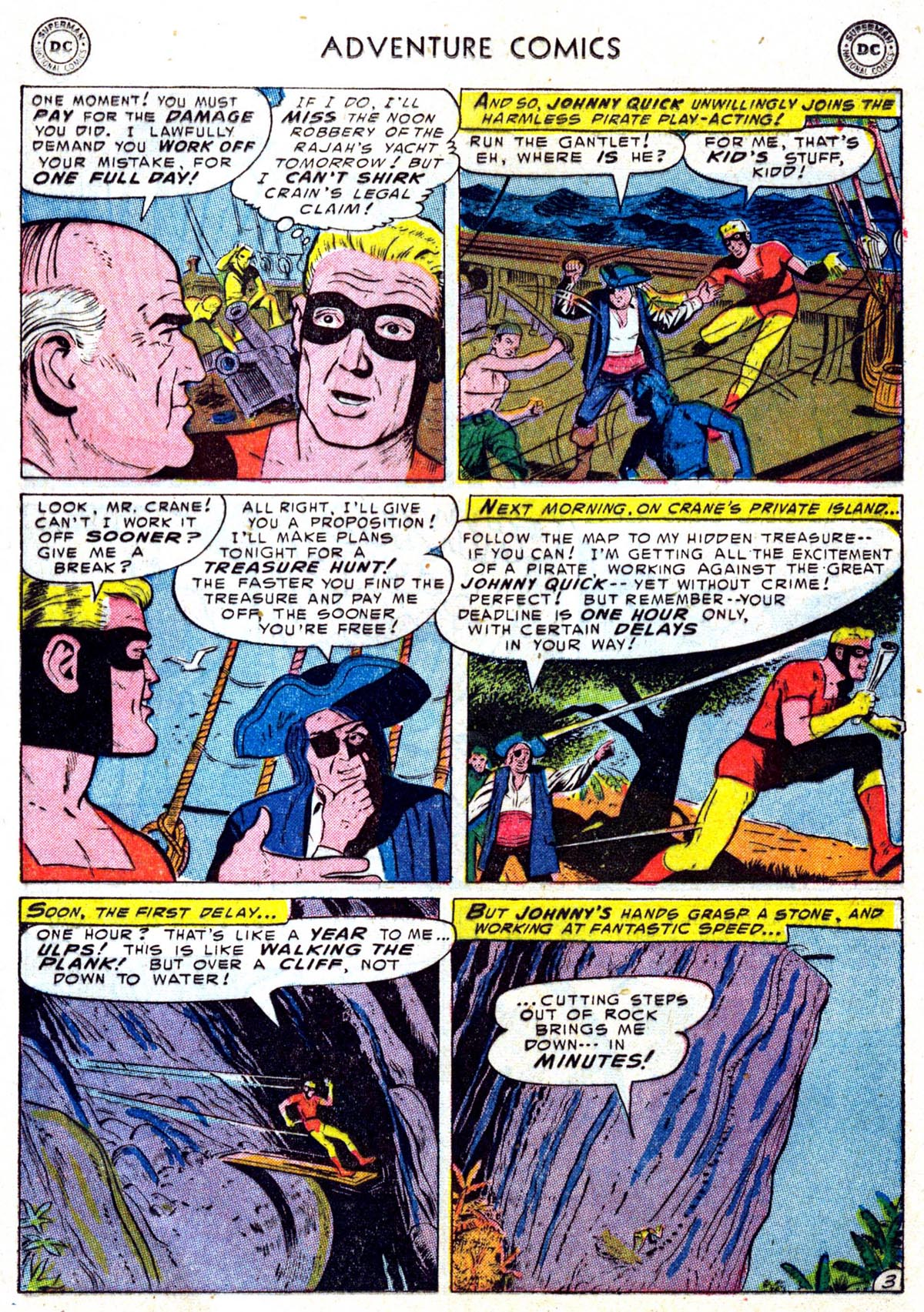 Read online Adventure Comics (1938) comic -  Issue #199 - 23