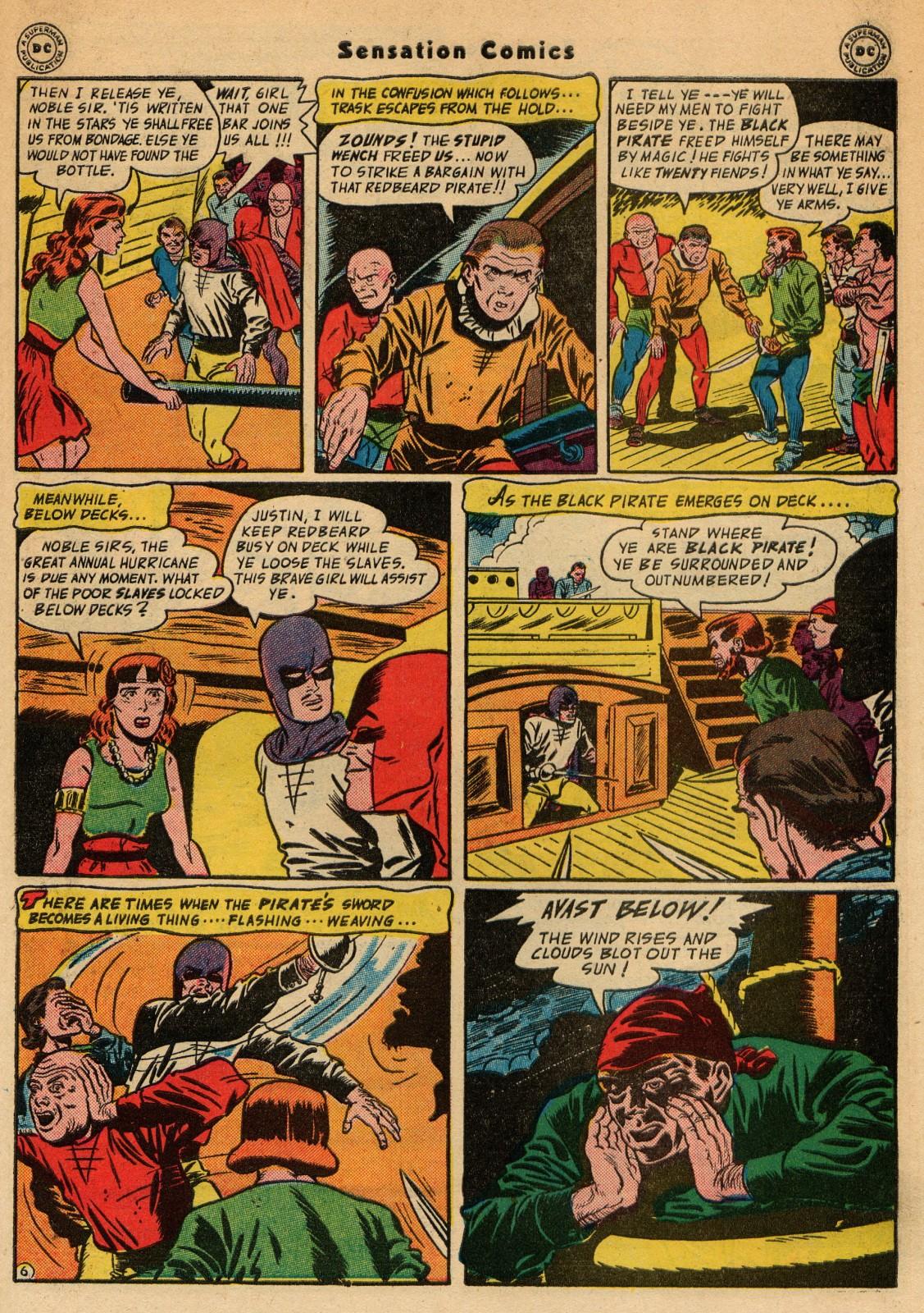 Read online Sensation (Mystery) Comics comic -  Issue #51 - 39