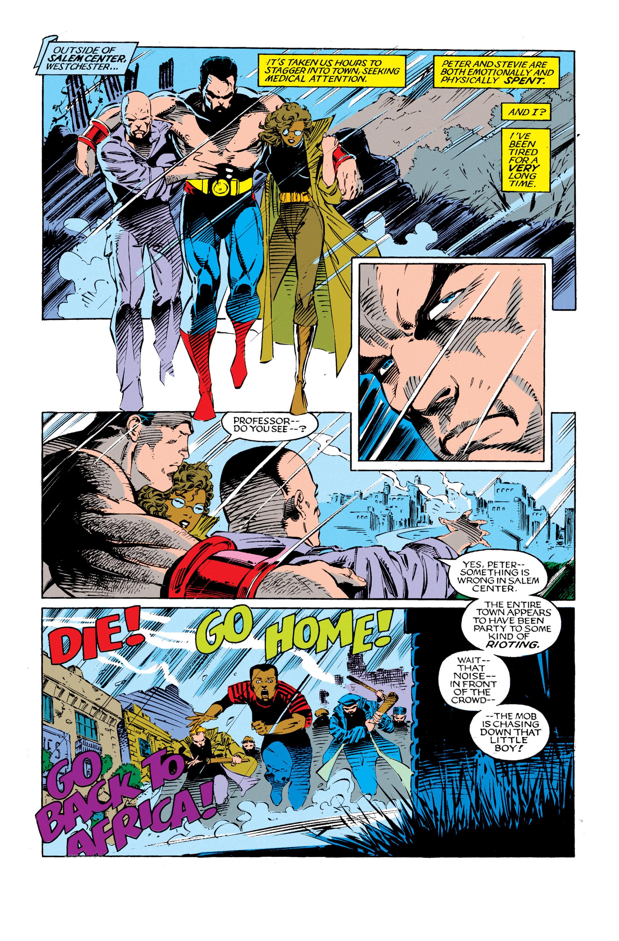 Read online Uncanny X-Men (1963) comic -  Issue #279 - 22