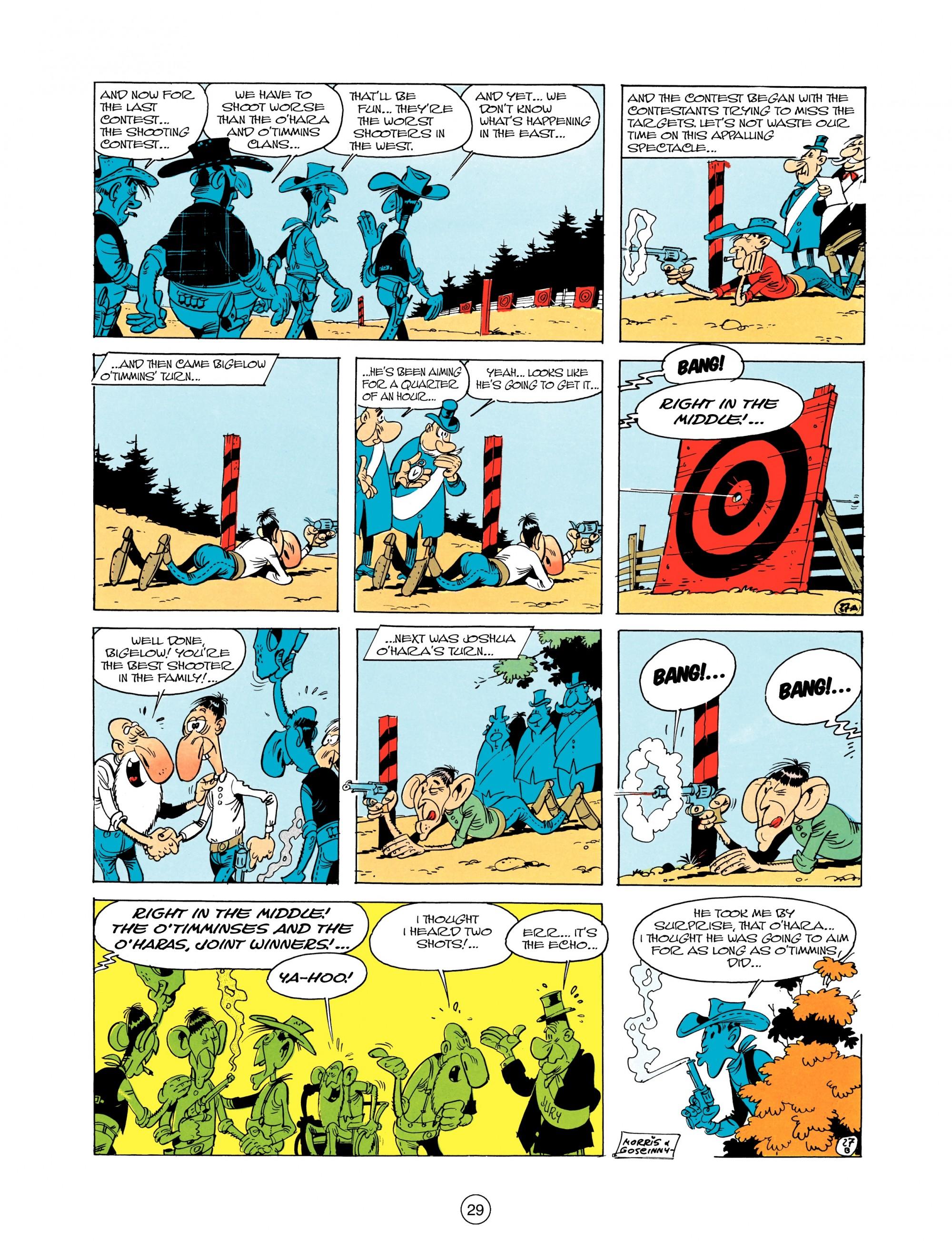 Read online A Lucky Luke Adventure comic -  Issue #12 - 29