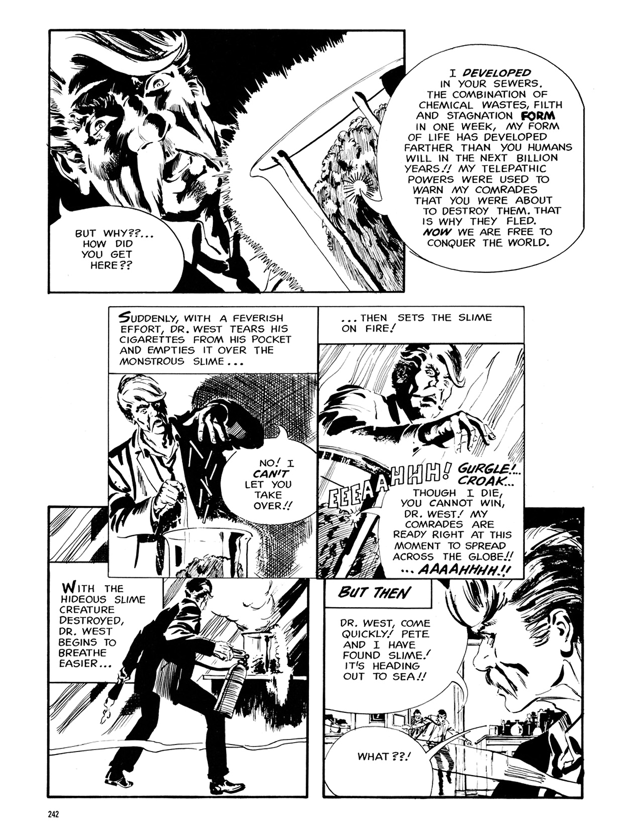 Read online Eerie Archives comic -  Issue # TPB 6 - 241