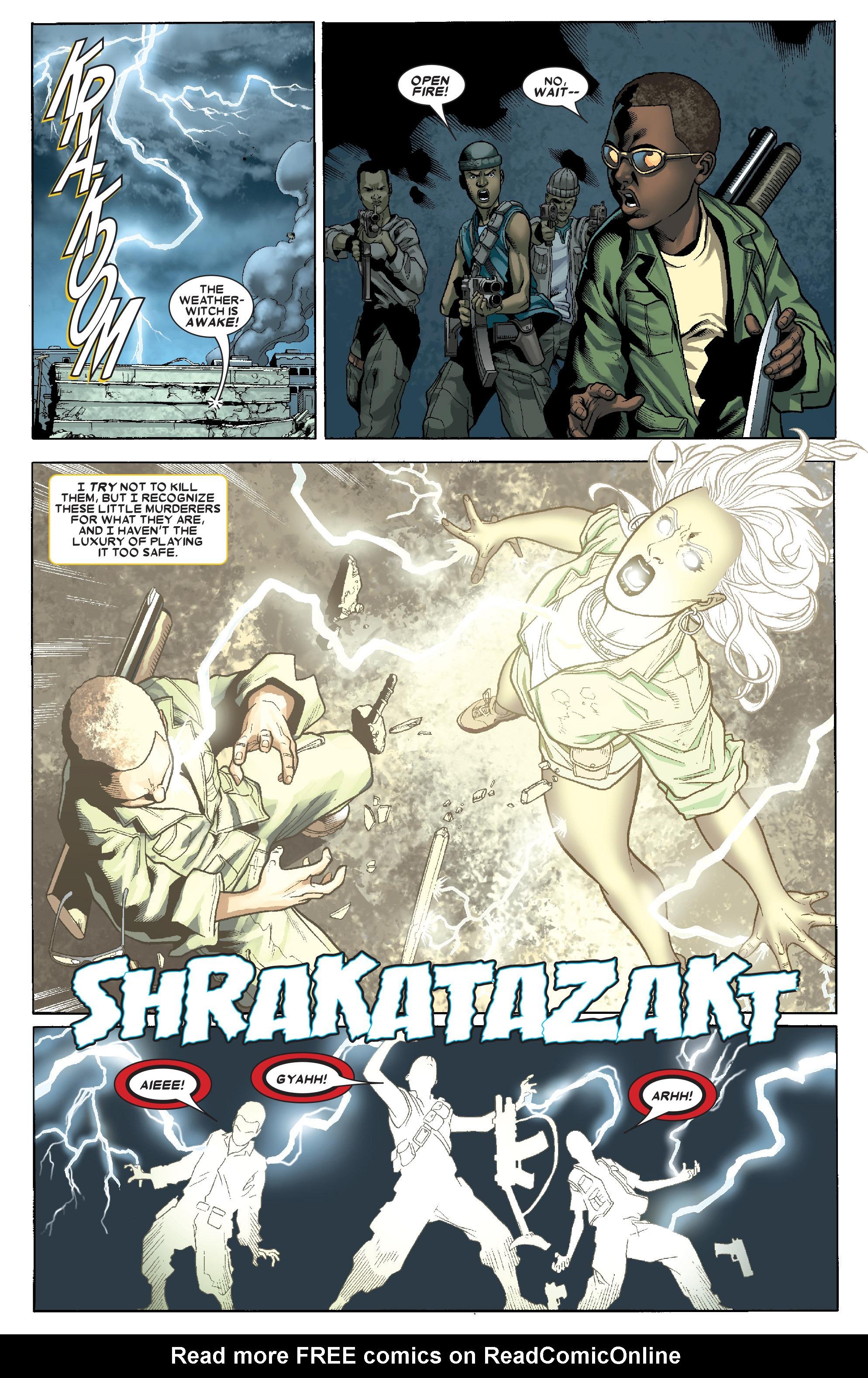 Read online Uncanny X-Men (1963) comic -  Issue # _Annual 1 (2006) - 34