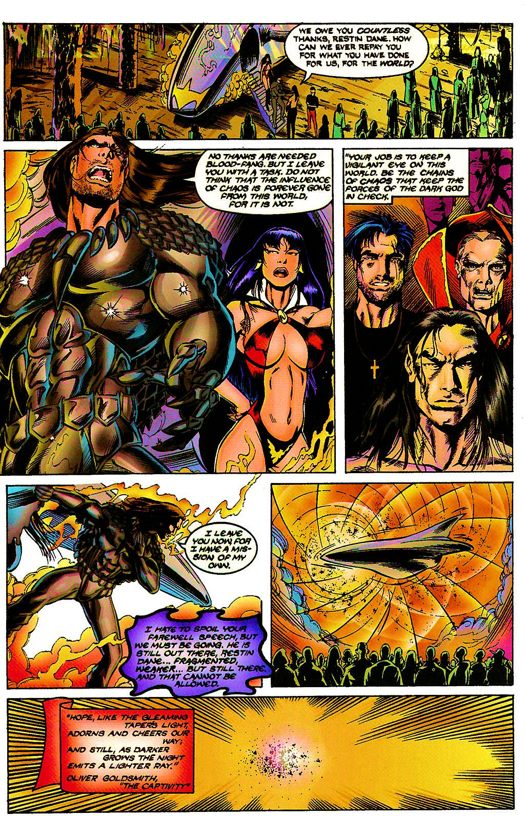 Read online Chains of Chaos comic -  Issue #3 - 32