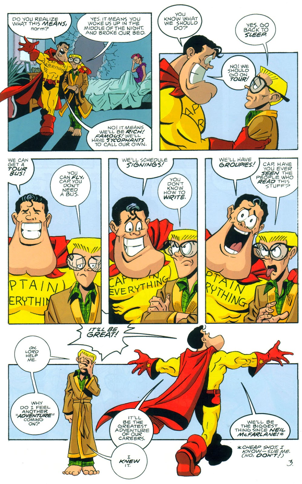 Read online Normalman 20th Anniversary Special comic -  Issue # Full - 5