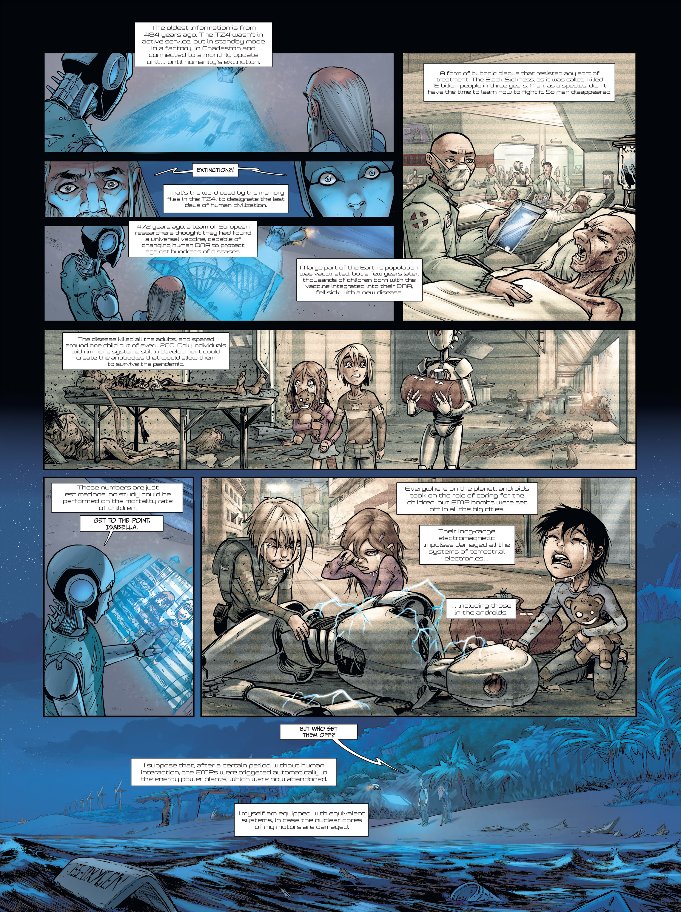Read online Androïds comic -  Issue #2 - 35
