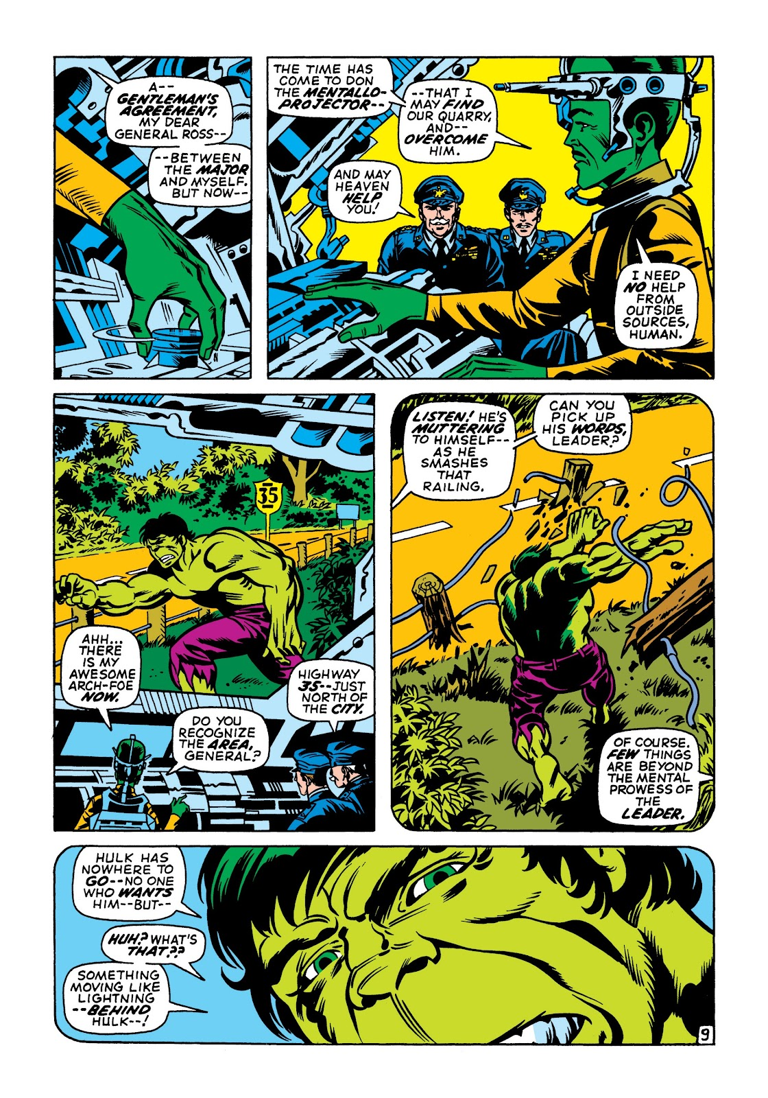 Read online Marvel Masterworks: The Incredible Hulk comic -  Issue # TPB 7 (Part 1) - 96