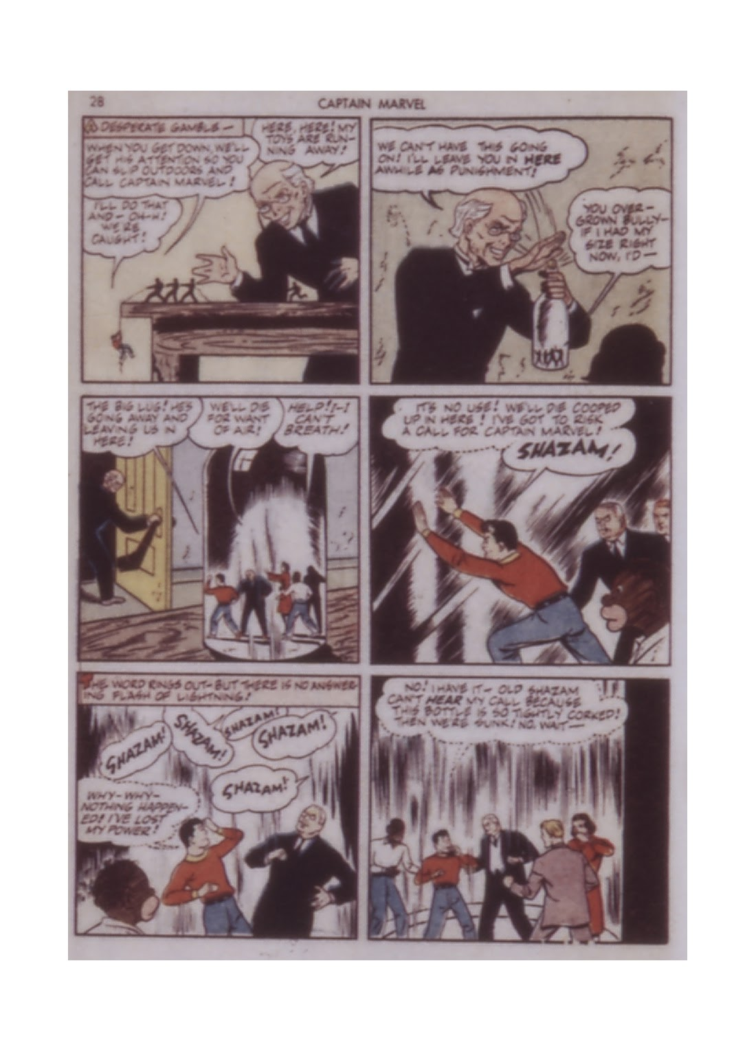 Captain Marvel Adventures issue 14 - Page 28