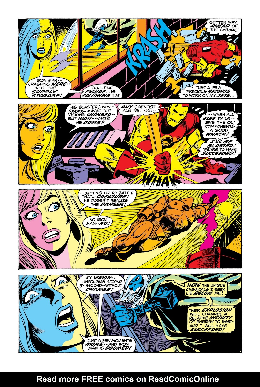 Read online Marvel Masterworks: The Invincible Iron Man comic -  Issue # TPB 8 (Part 3) - 66