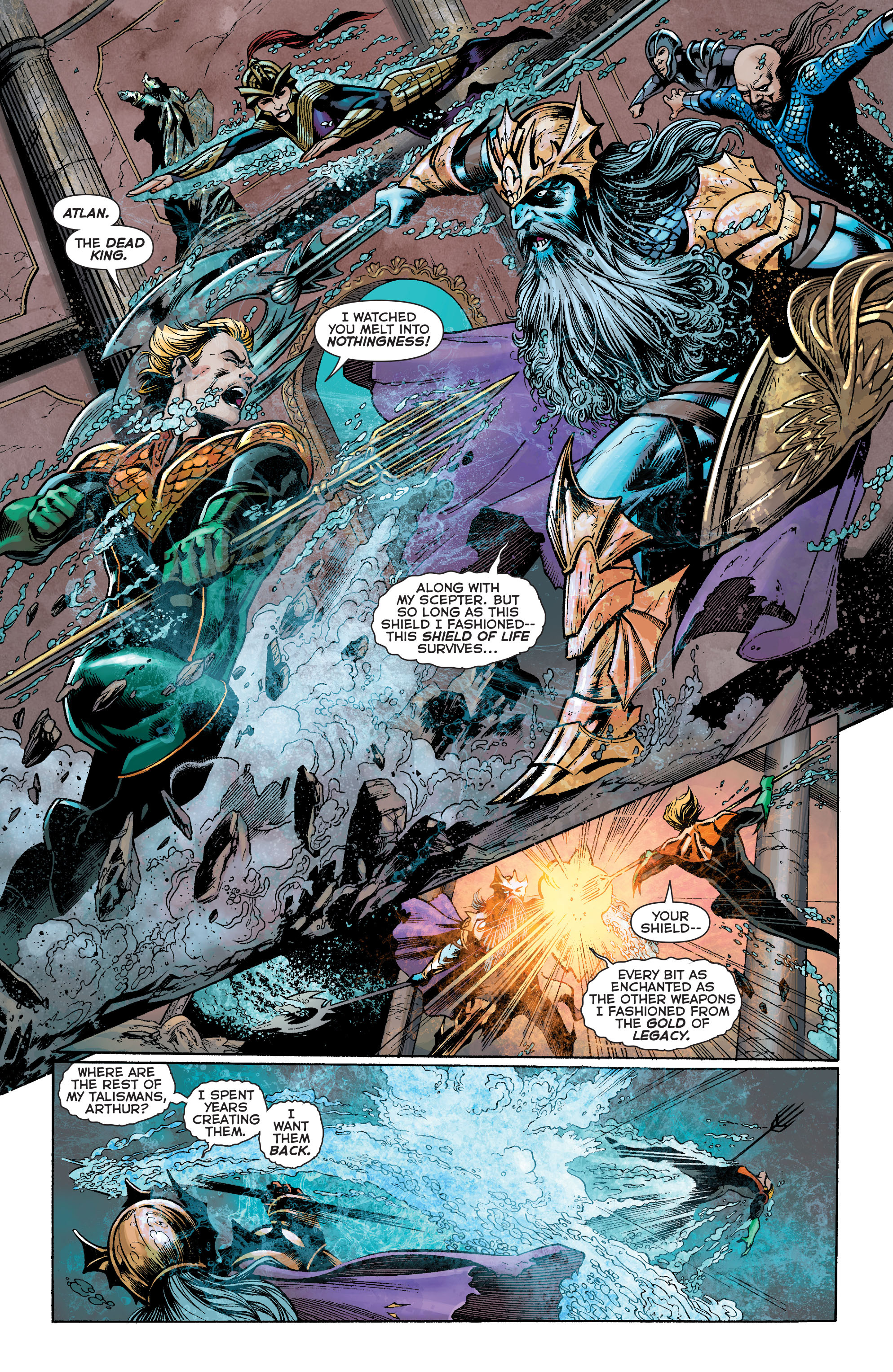 Read online Aquaman: Futures End comic -  Issue #Aquaman: Futures End Full - 19