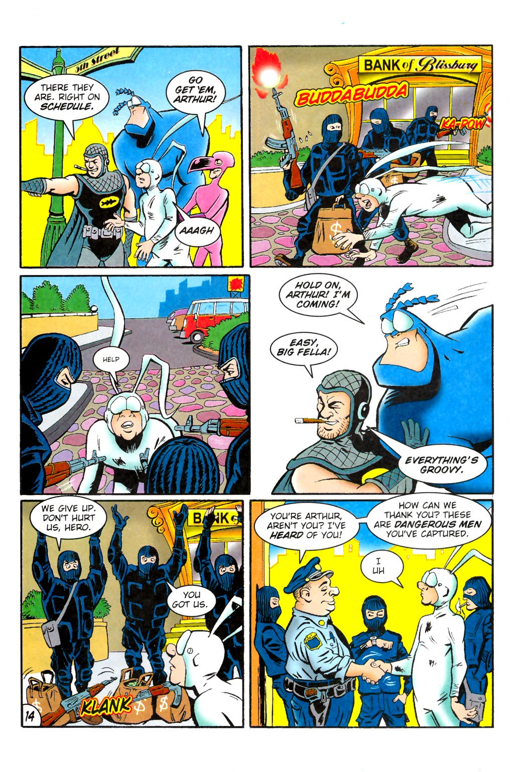 Read online The Tick: Days of Drama comic -  Issue #1 - 18