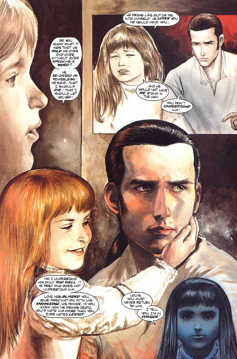 Read online Anne Rice's Interview with the Vampire comic -  Issue #9 - 7