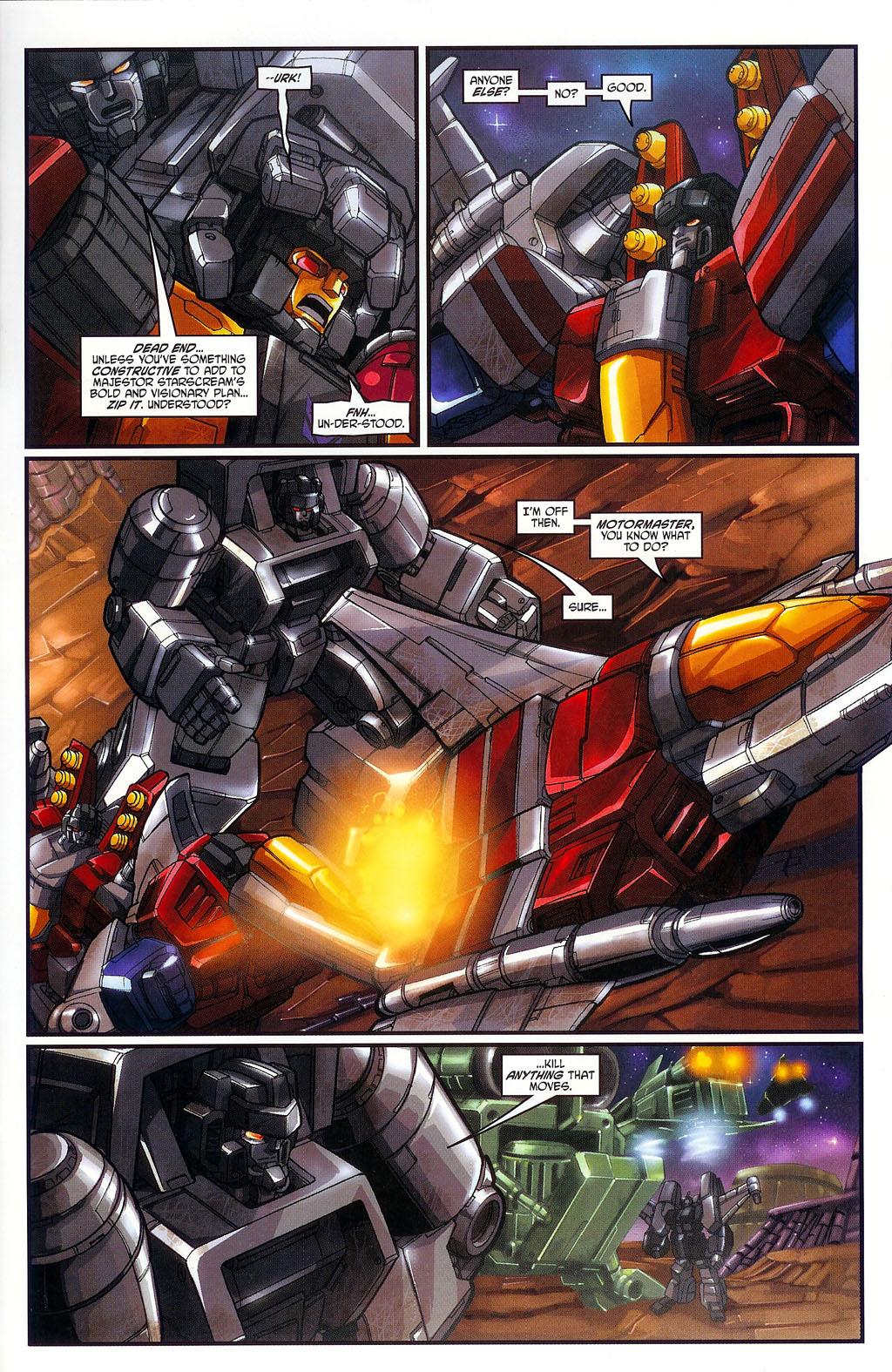 """Read online Transformers War Within: """"The Age of Wrath"""" comic -  Issue #1 - 9"""