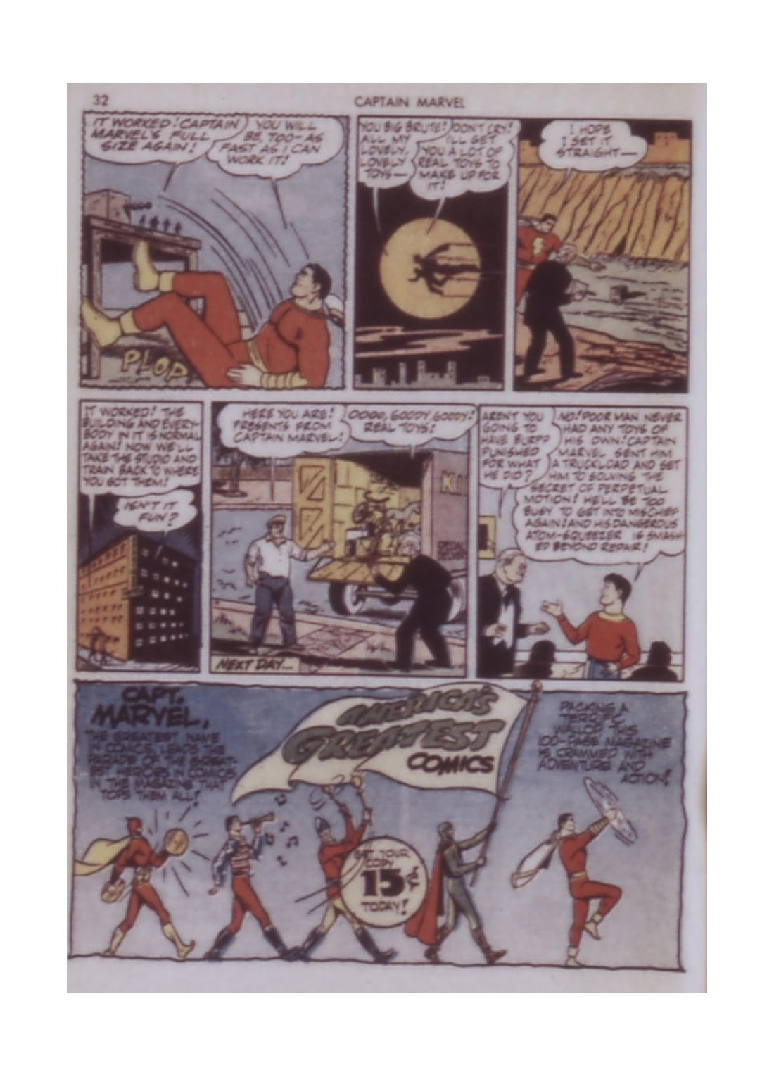 Captain Marvel Adventures issue 14 - Page 32